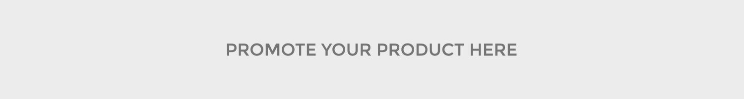 Promote your product here! 1M+ views every month!