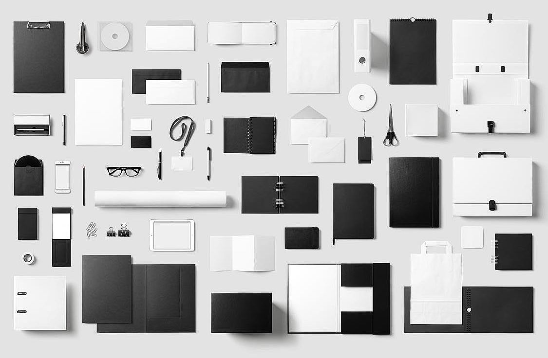 Corporate Stationery / Mock-Up (60 items!)