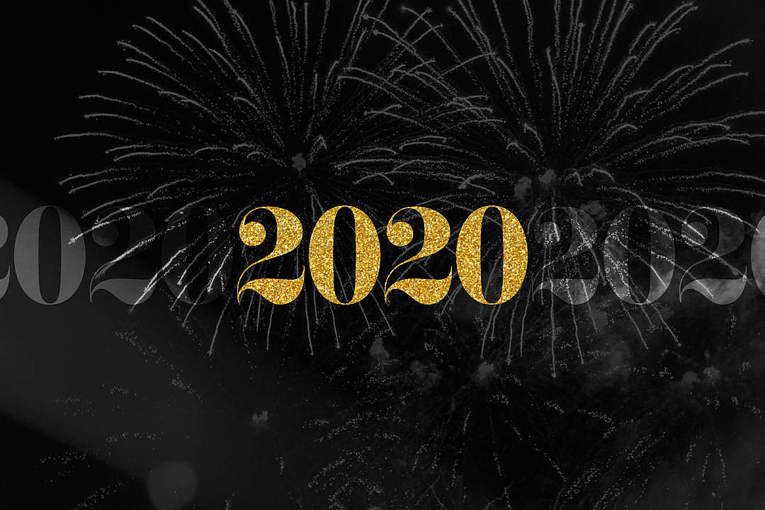 Download 2020 Happy New Year FREE Stock Photo