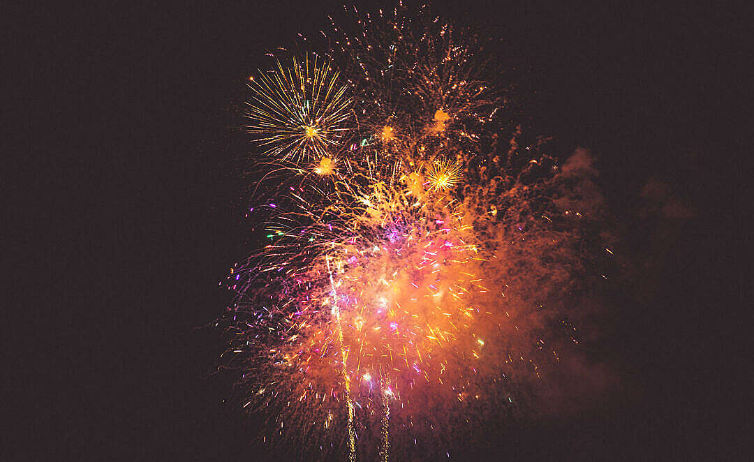Download 4th July Fireworks FREE Stock Photo