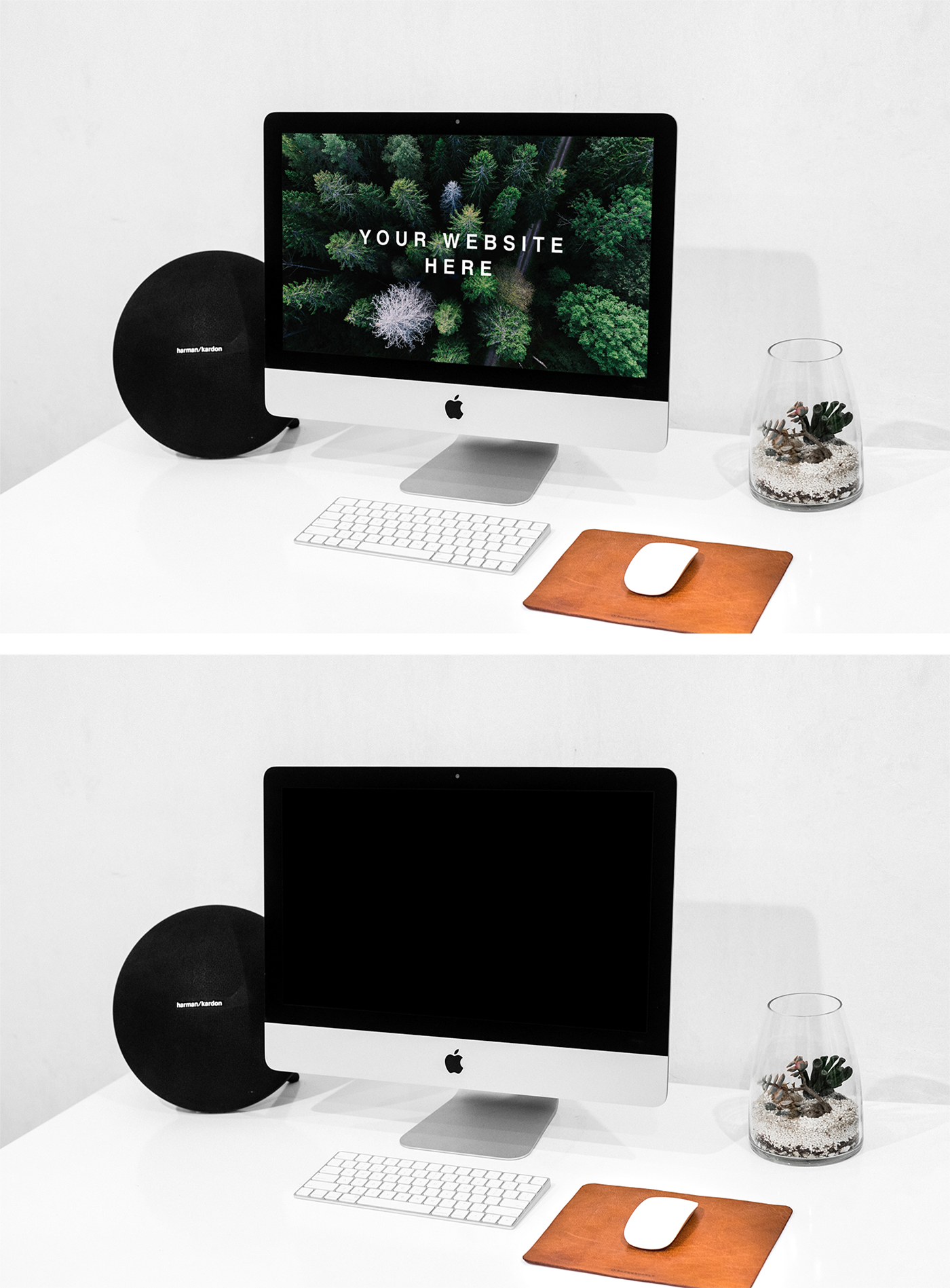 Free iMac Mockup stock photo collection