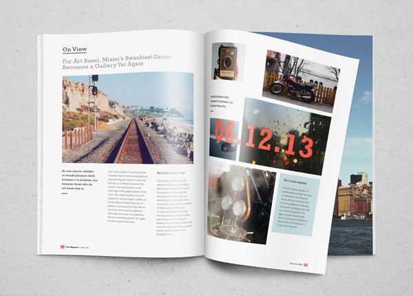 Photorealistic Magazine MockUp stock photo collection