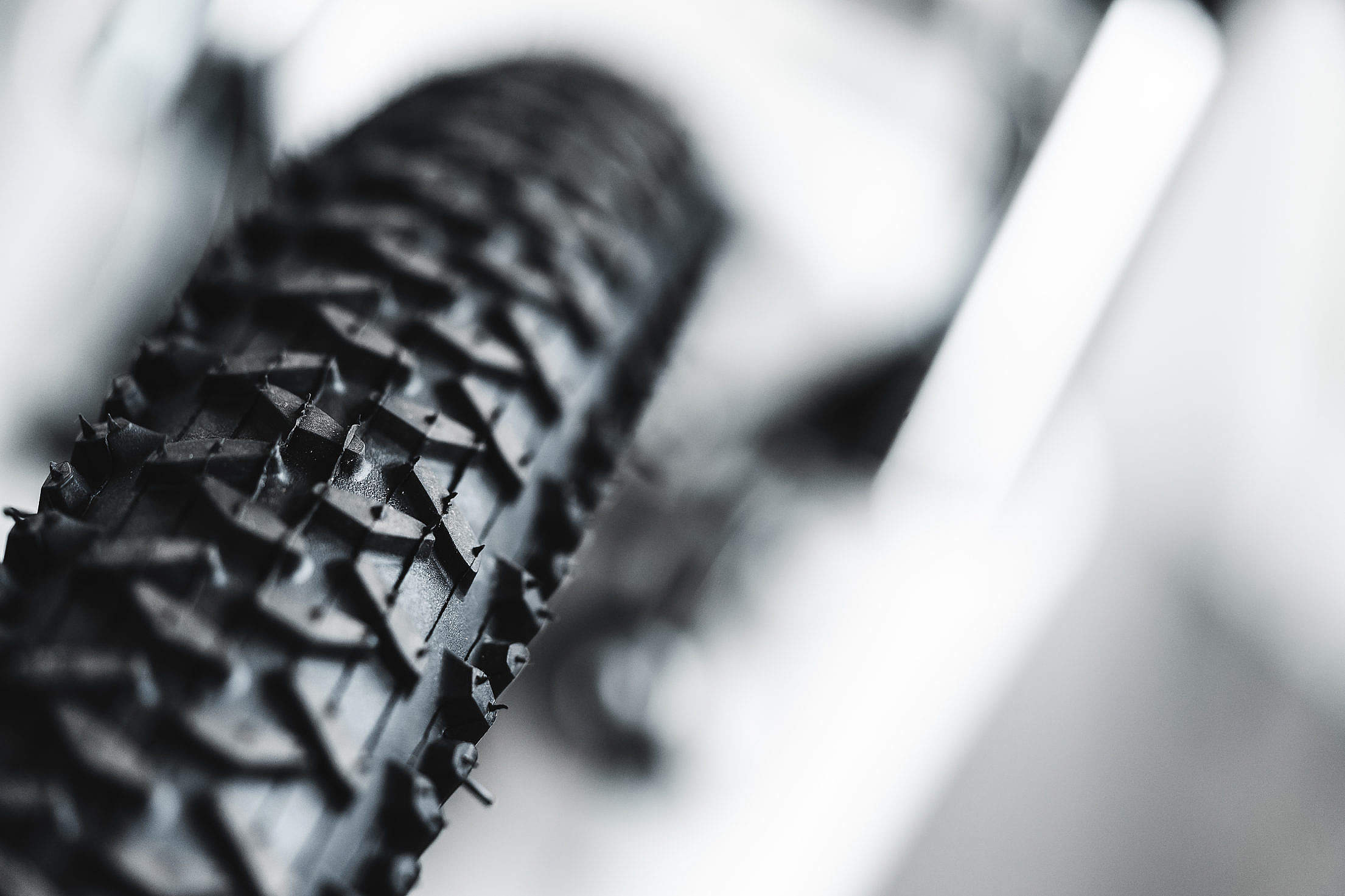 A Bicycle Tyre Free Stock Photo