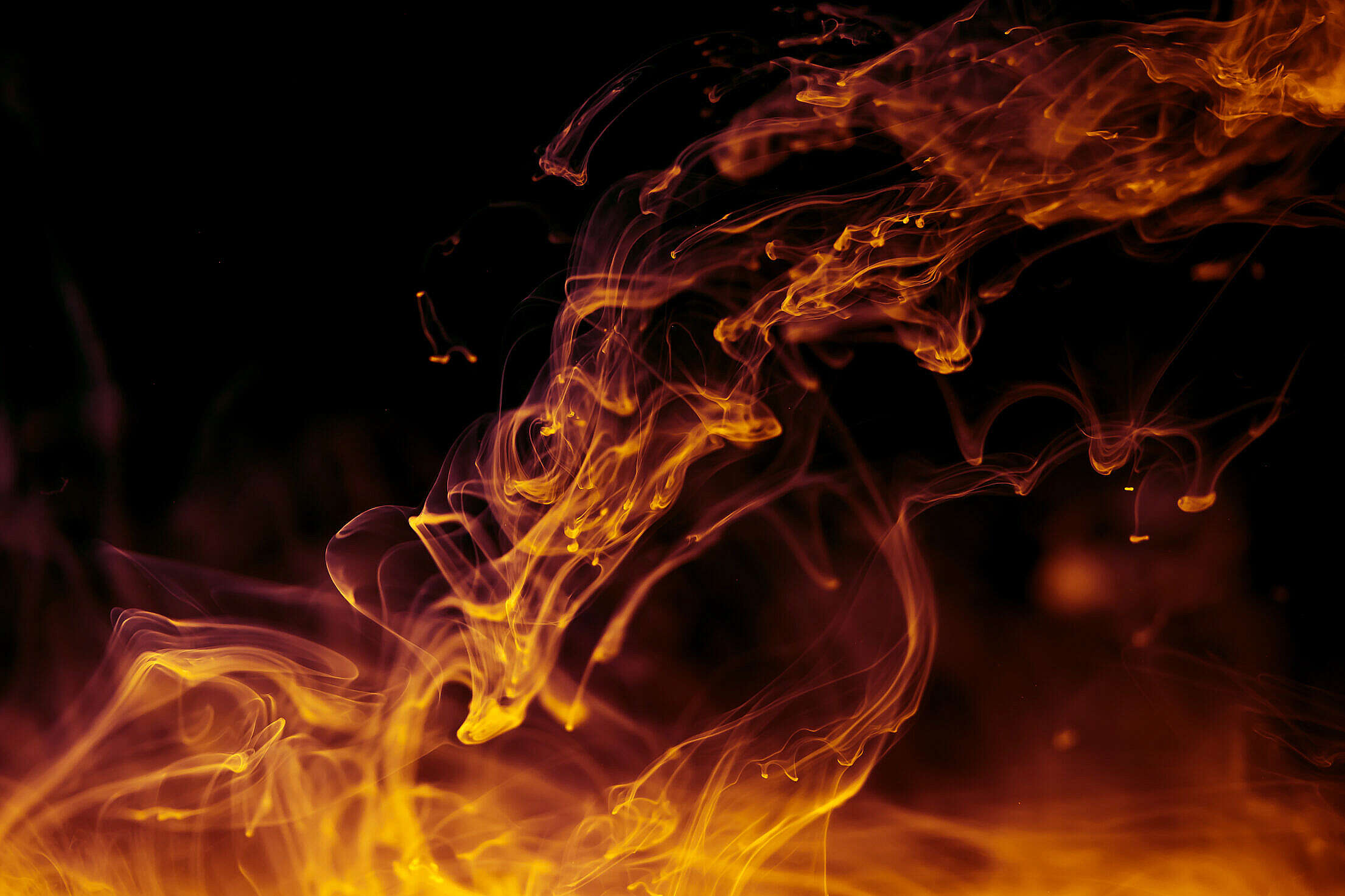 Abstract Fire Free Stock Photo