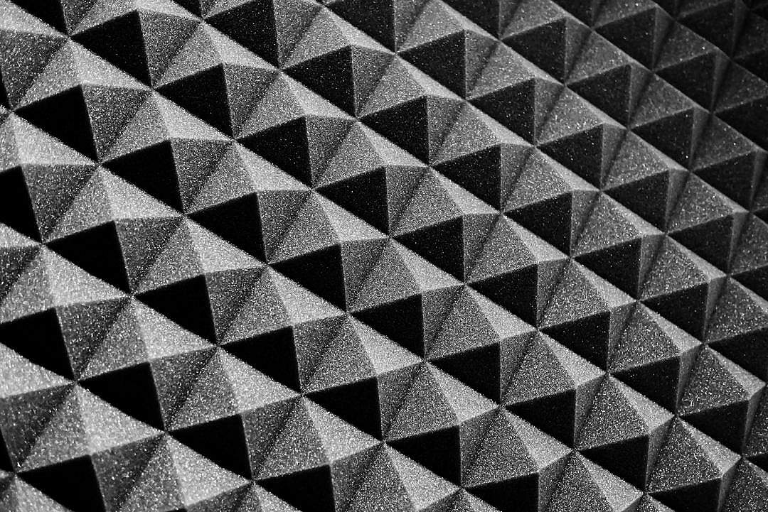 Download Acoustic Foam FREE Stock Photo