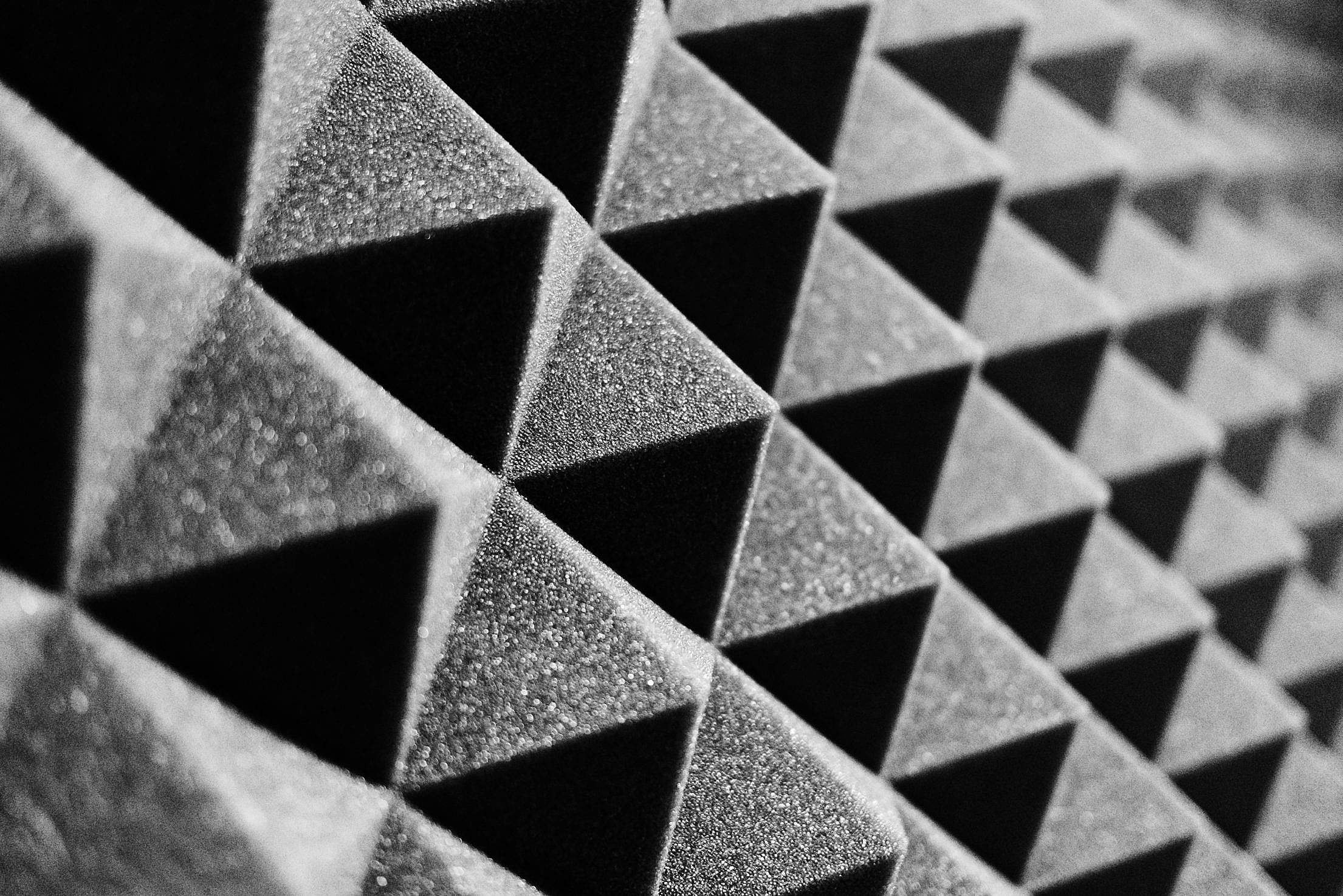 Acoustic Foam Close Up Free Stock Photo