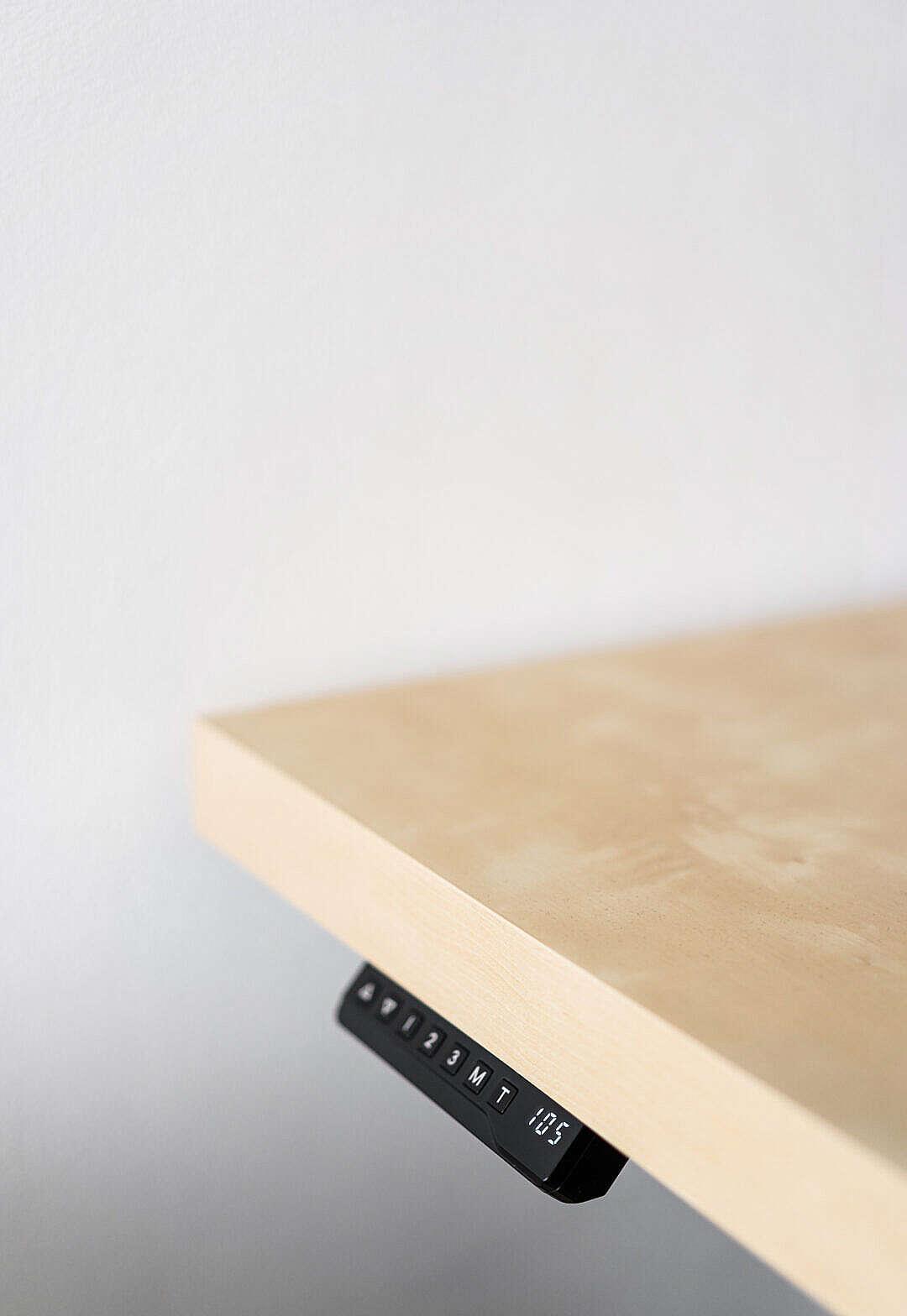 Download Adjustable Work Desk FREE Stock Photo