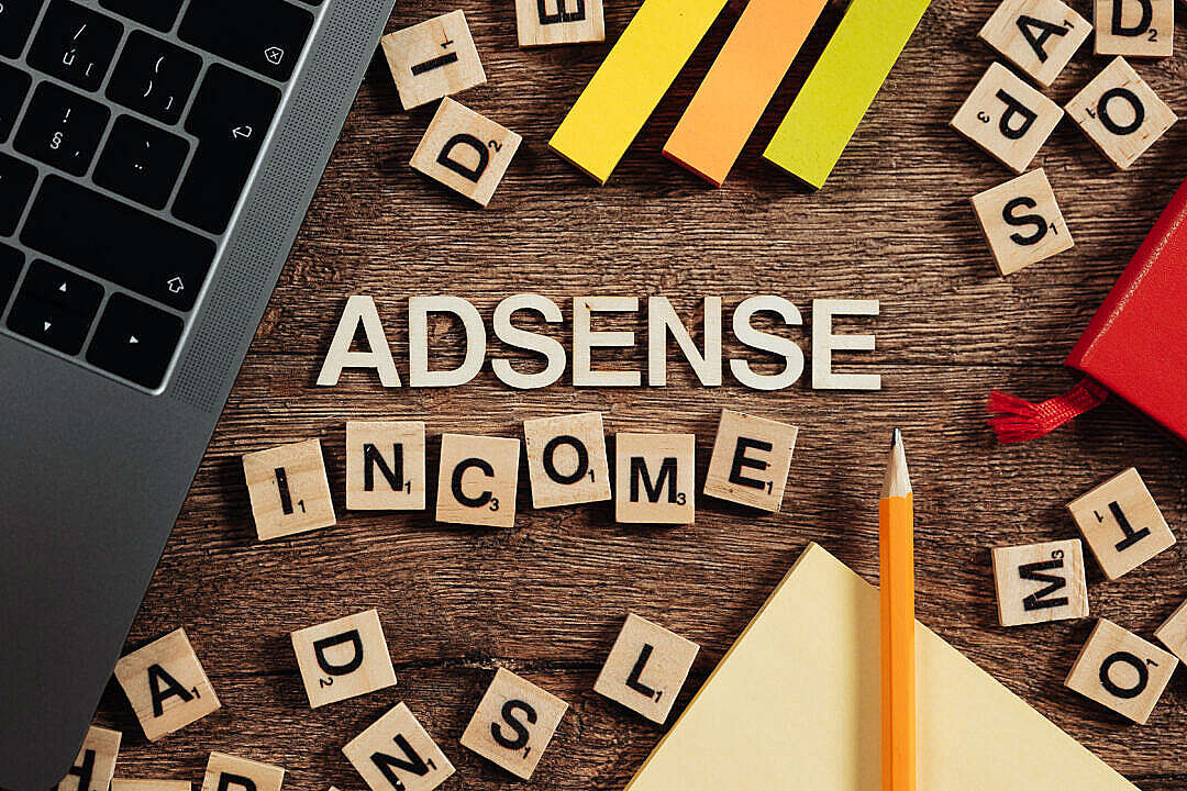 Download AdSense Income FREE Stock Photo
