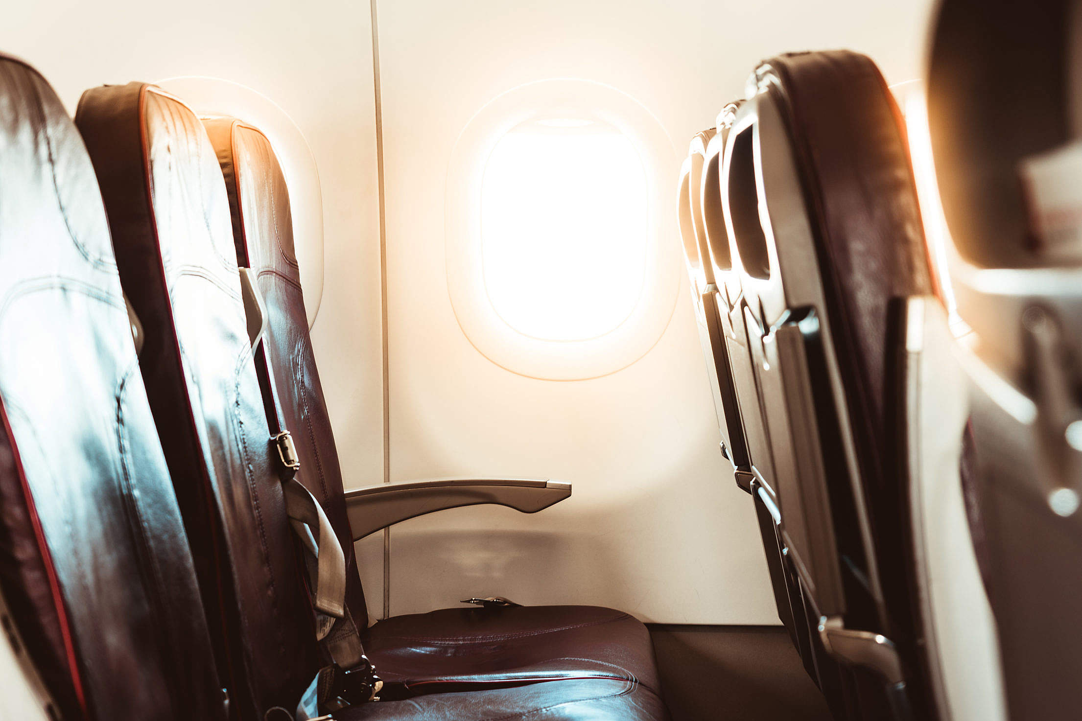 Download Airplane Window Free Stock Photo