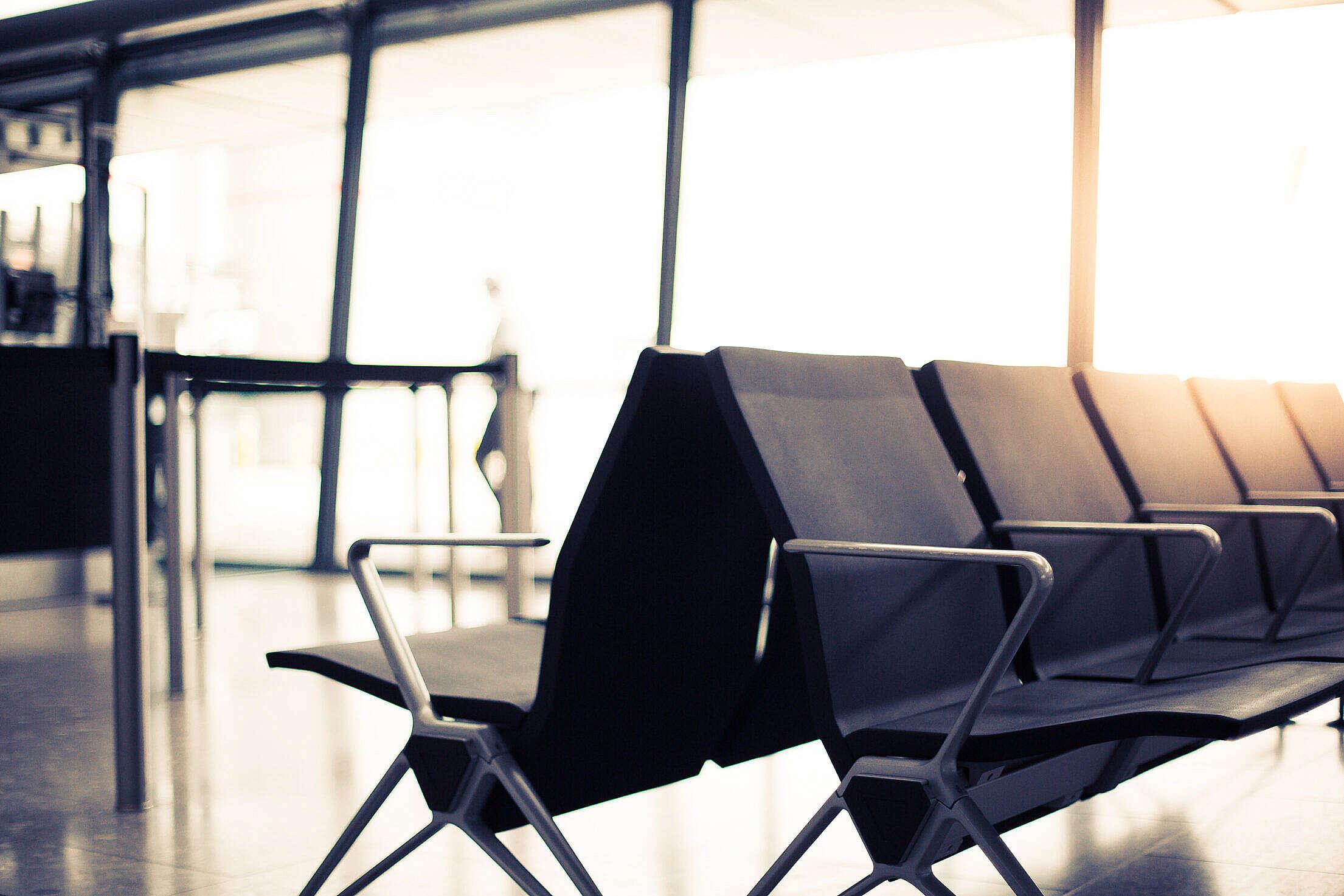 Airport Waiting Lounge Free Stock Photo