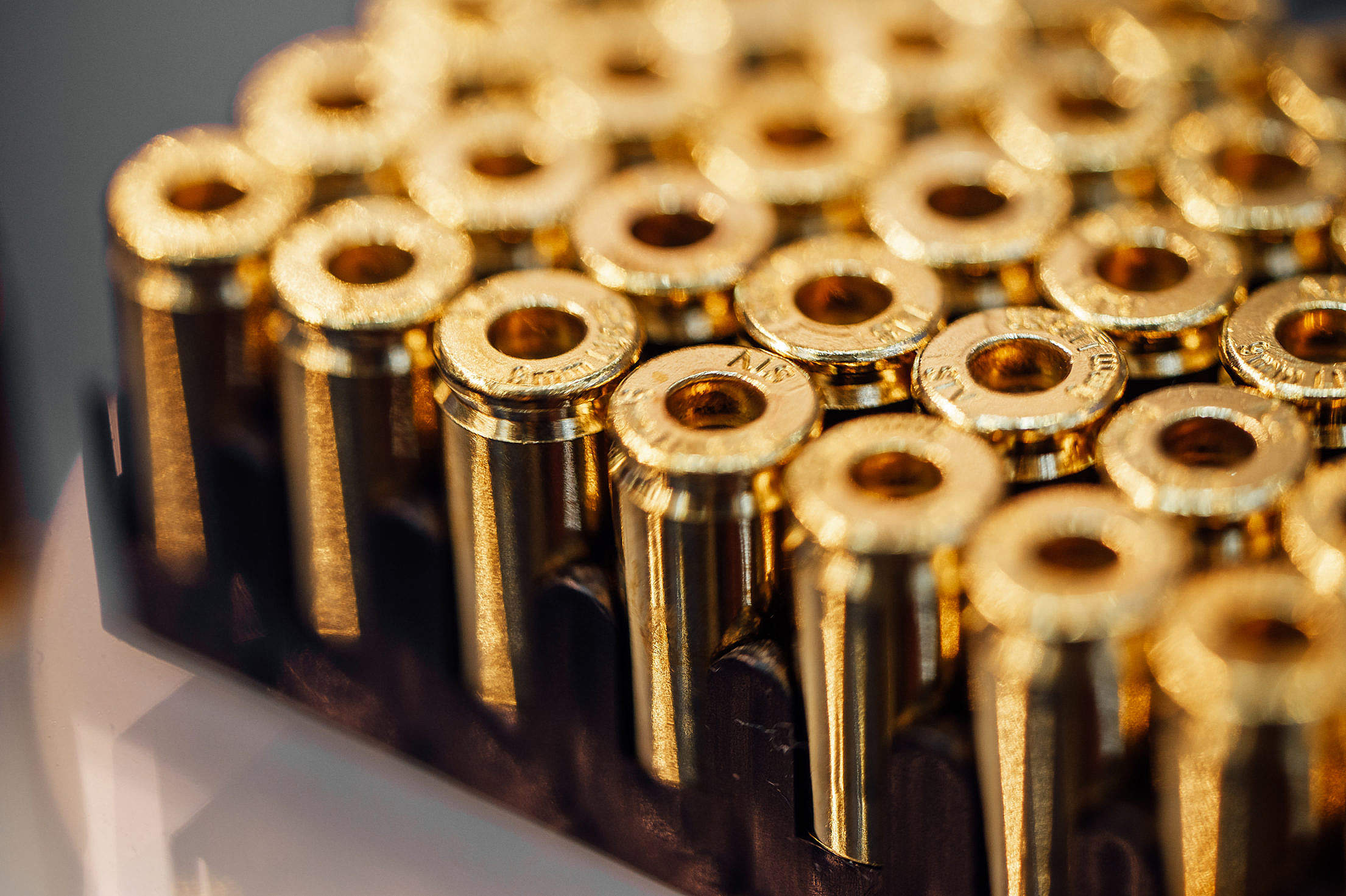 Ammunition for Handgun Weapons Free Stock Photo