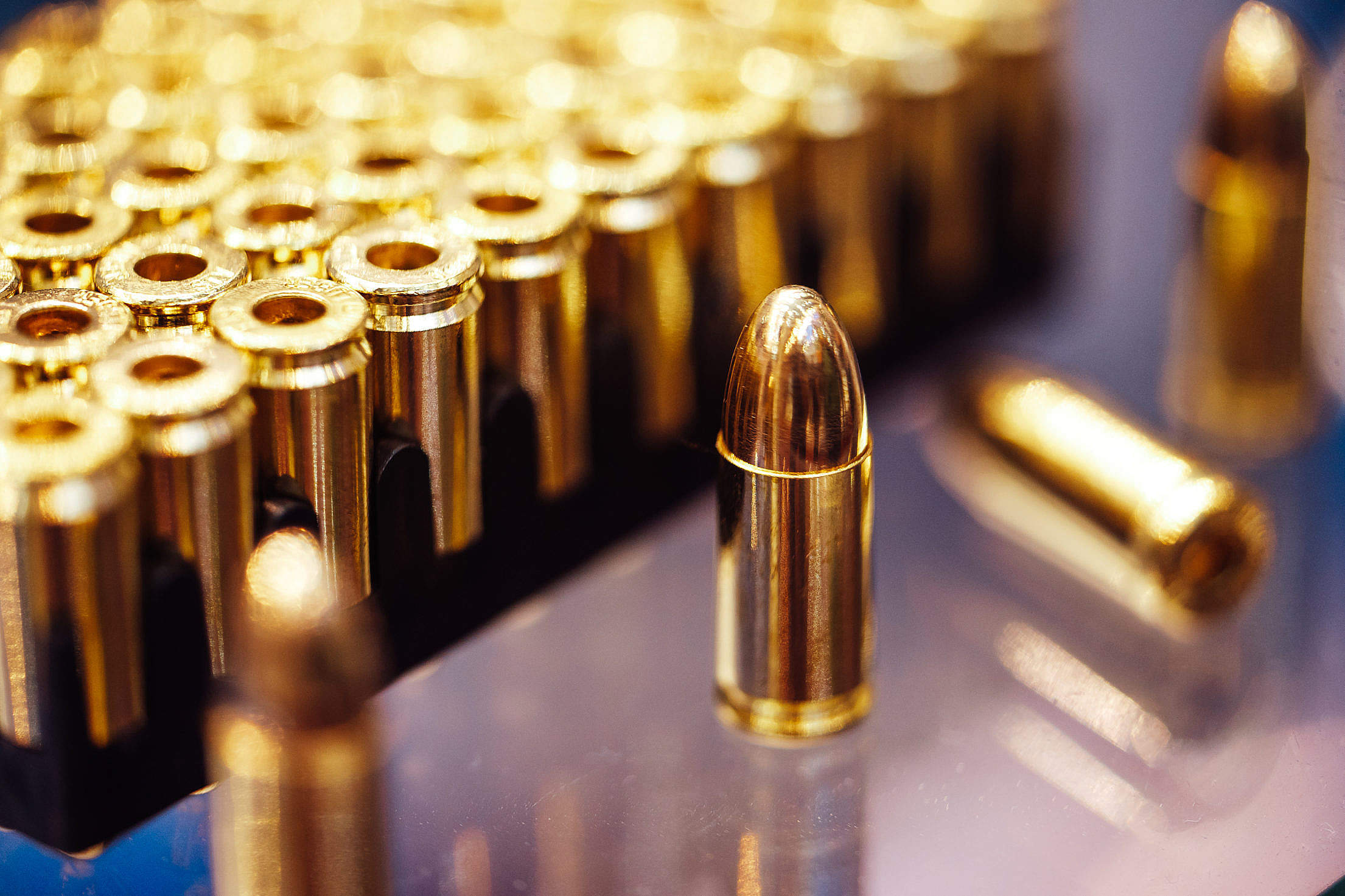 Ammunition Free Stock Photo
