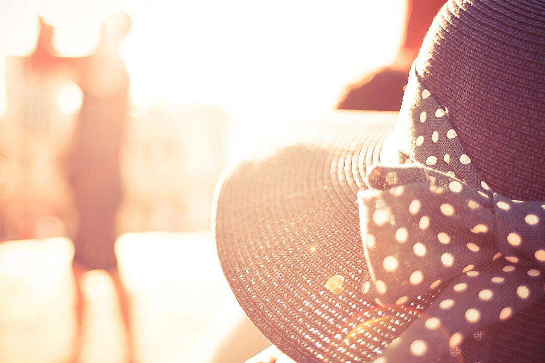 Download Another Girl Hat in Sunlights FREE Stock Photo