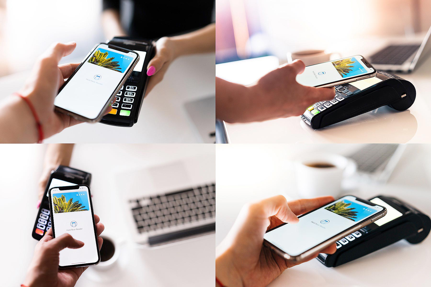 Paying with Smartphone Stock Photos Collection by picjumbo
