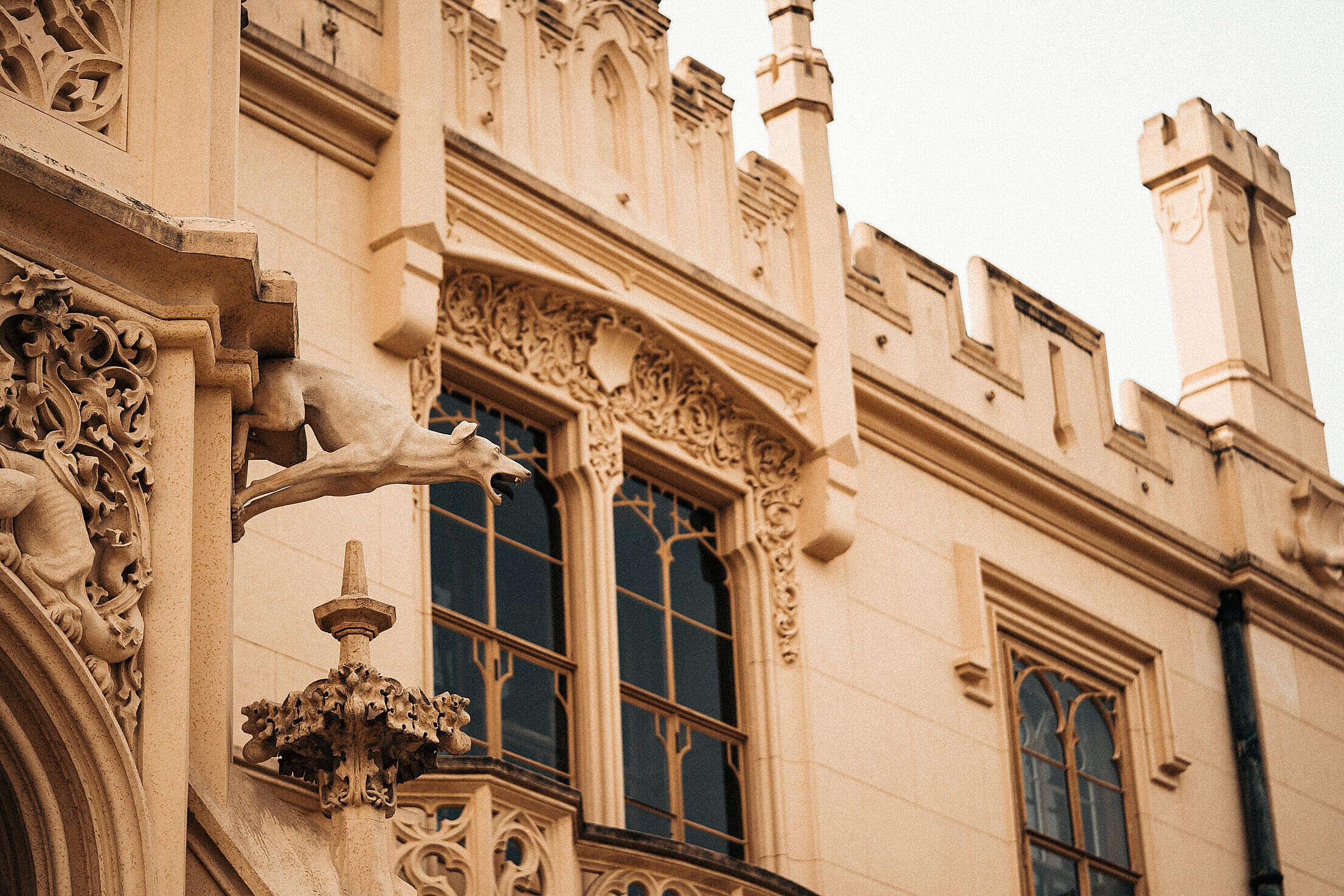 Architecture of Lednice Castle Free Stock Photo