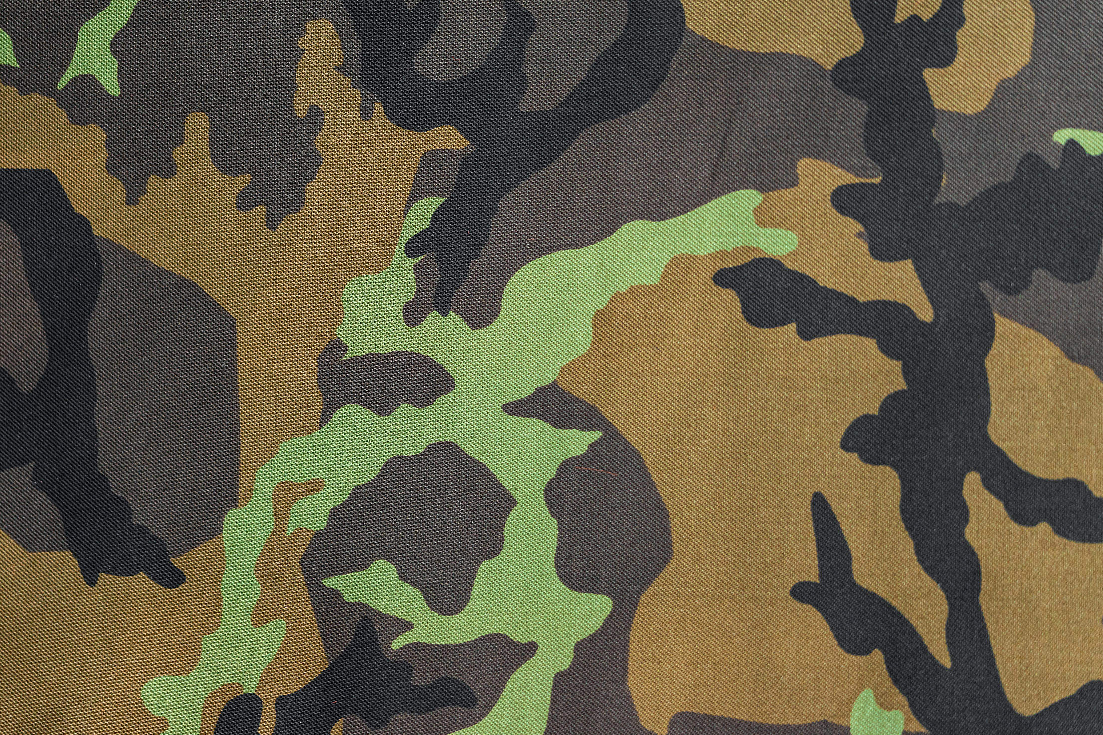 Army Camouflage Pattern Free Stock Photo