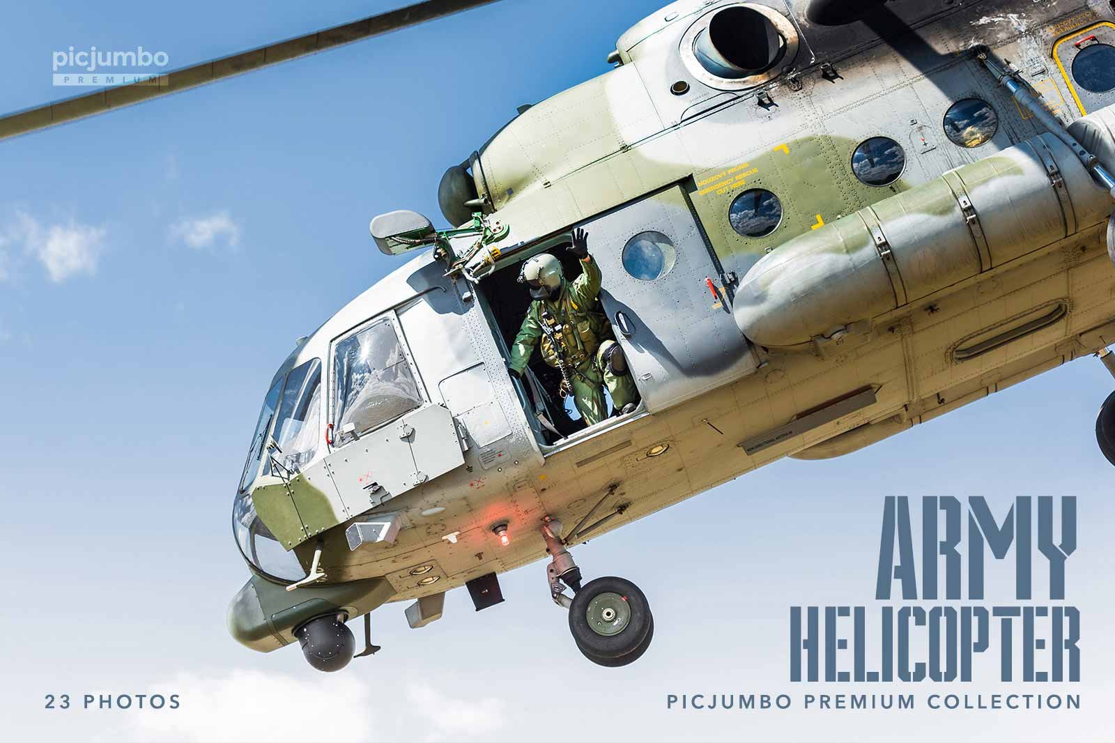 Join PREMIUM and get full collection now: Army Helicopter