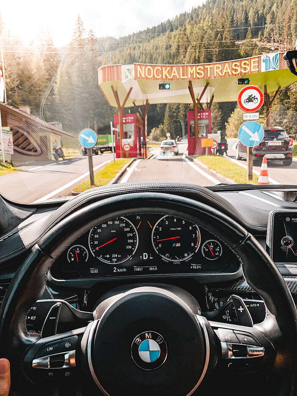 Download Arriving at Nockalmstrasse Alpine Road, Austria FREE Stock Photo