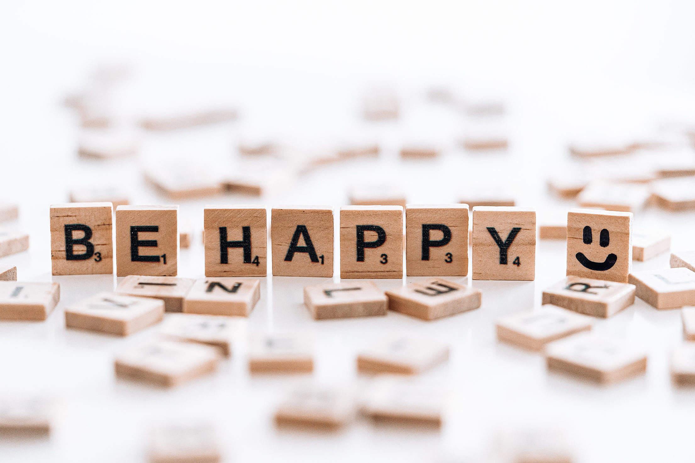 Be Happy Free Stock Photo