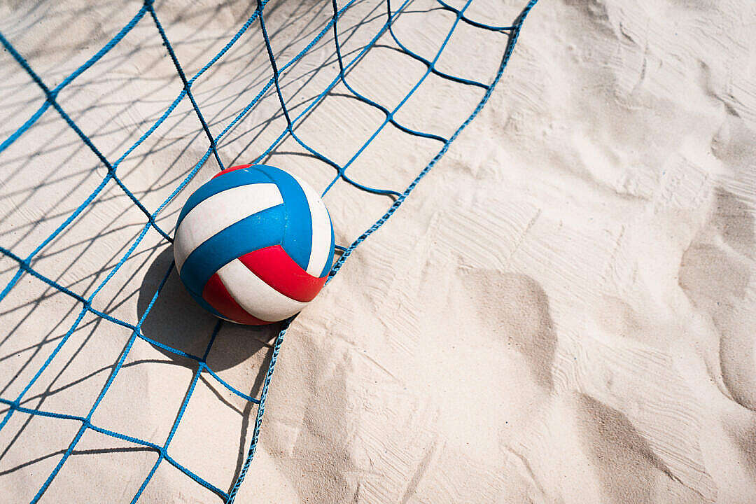 Download Beach Volleyball FREE Stock Photo