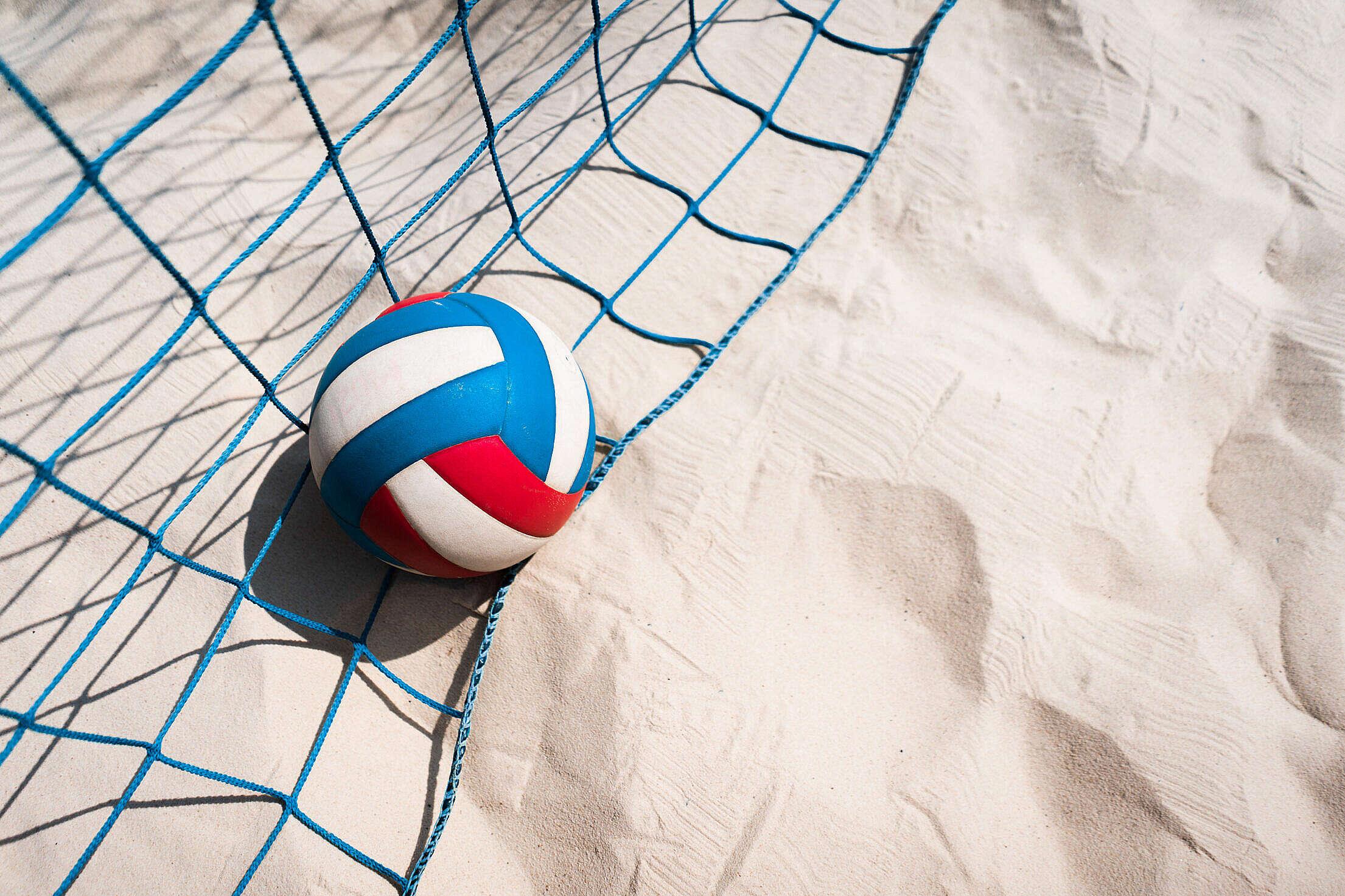 Beach Volleyball Free Stock Photo