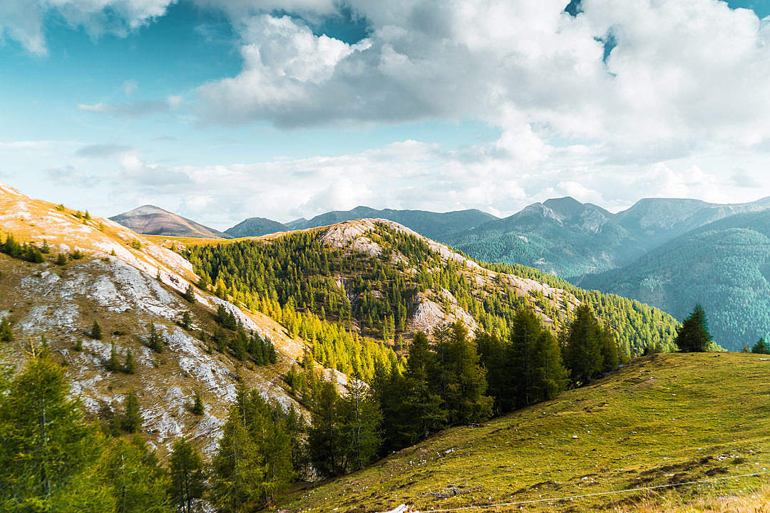 Download Beautiful Mountain Scenery in Austria FREE Stock Photo
