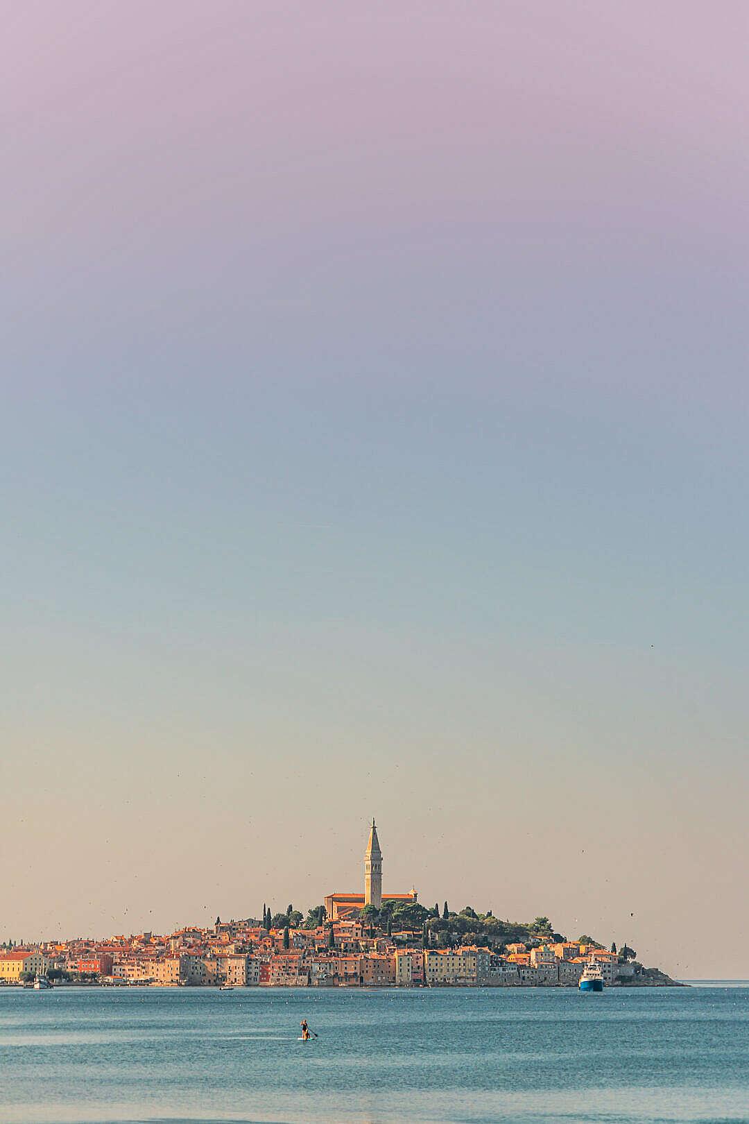 Download Beautiful Rovinj City in Croatia FREE Stock Photo