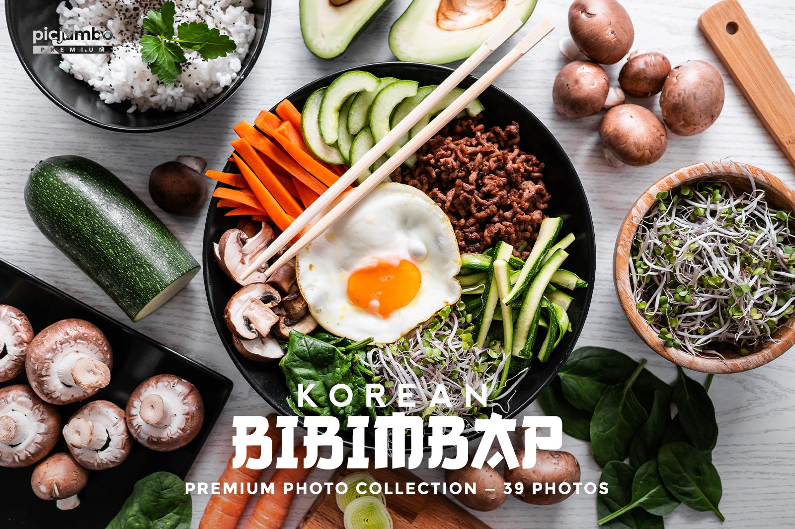 Click here to see Korean Bibimbap PREMIUM Collection!