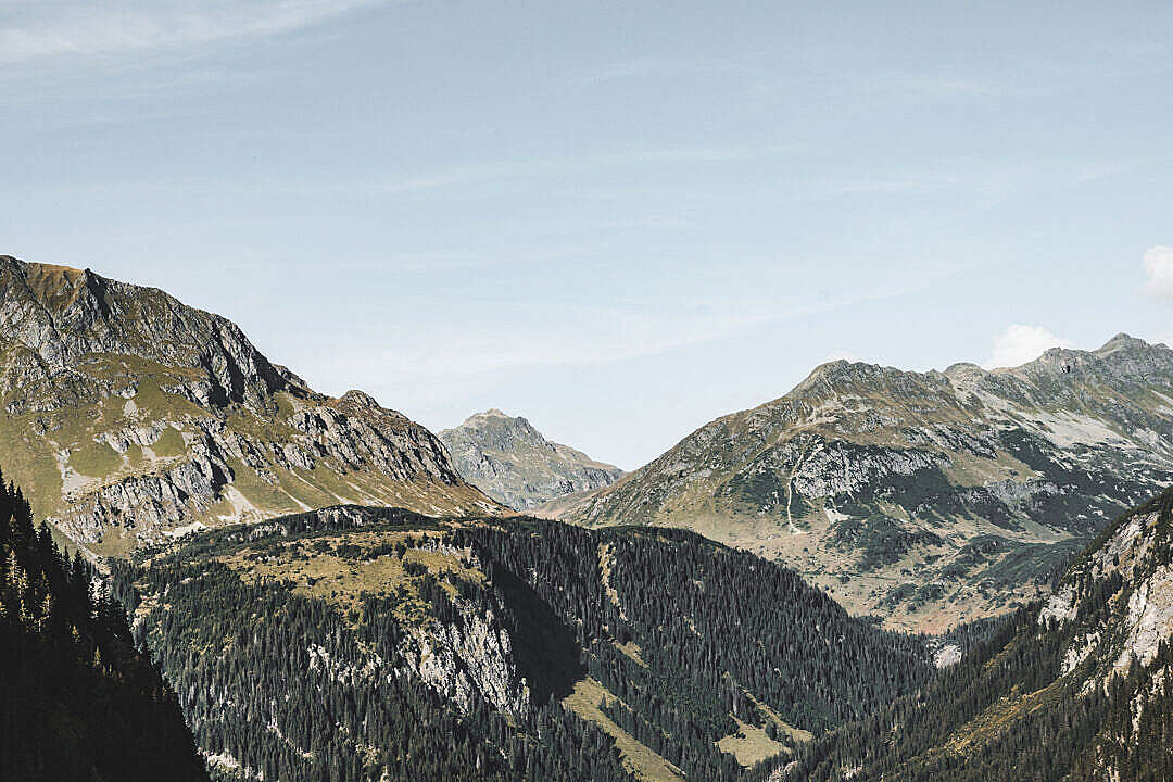 Download Big Mountains in Pure Austrian Nature FREE Stock Photo
