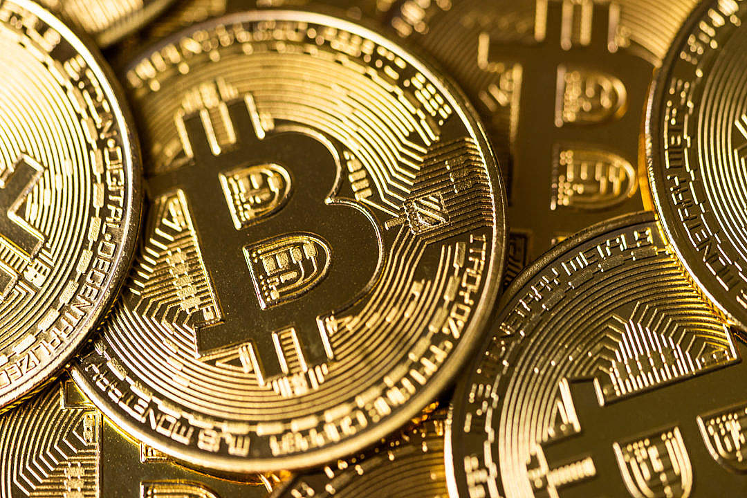 Download Bitcoin Coins FREE Stock Photo