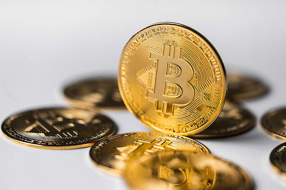 Download Bitcoin Cryptocurrency FREE Stock Photo