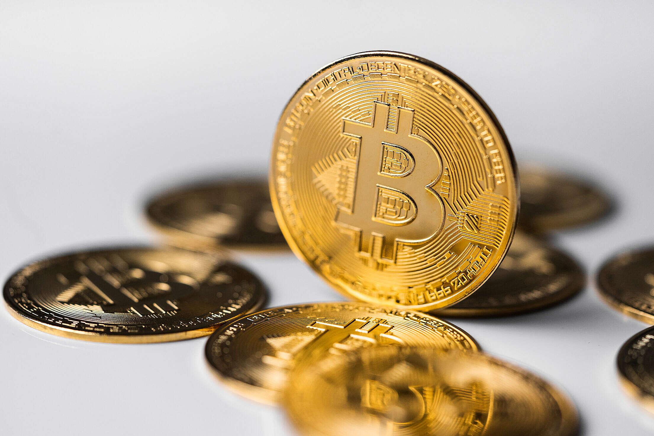 Bitcoin Cryptocurrency Free Stock Photo