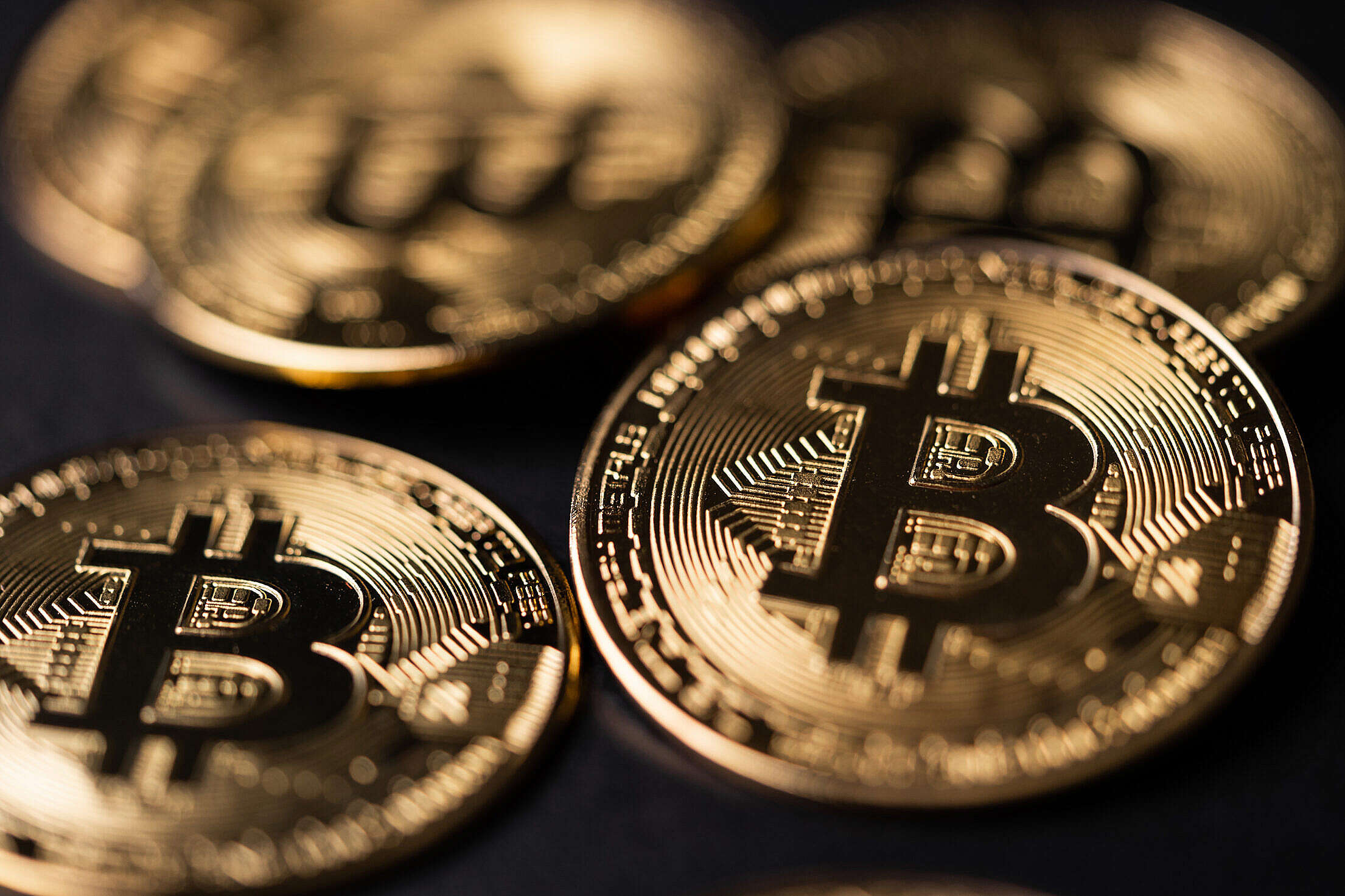 Bitcoin Free Stock Photo