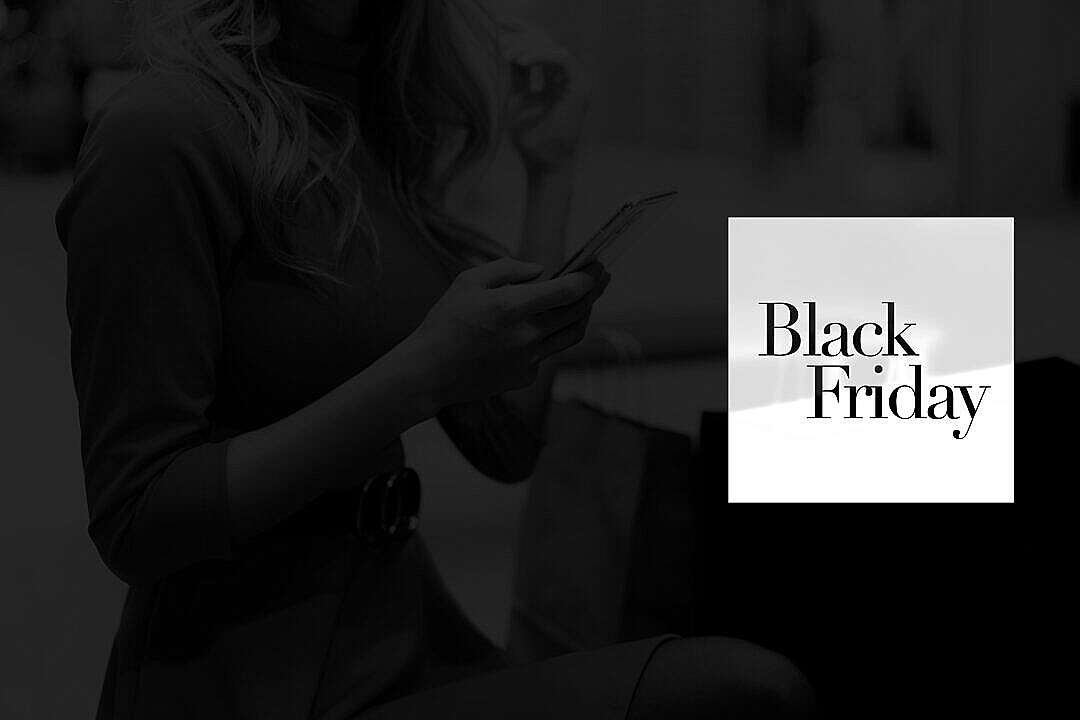 Download Black Friday eCommerce Luxury Visual with Space for Text FREE Stock Photo