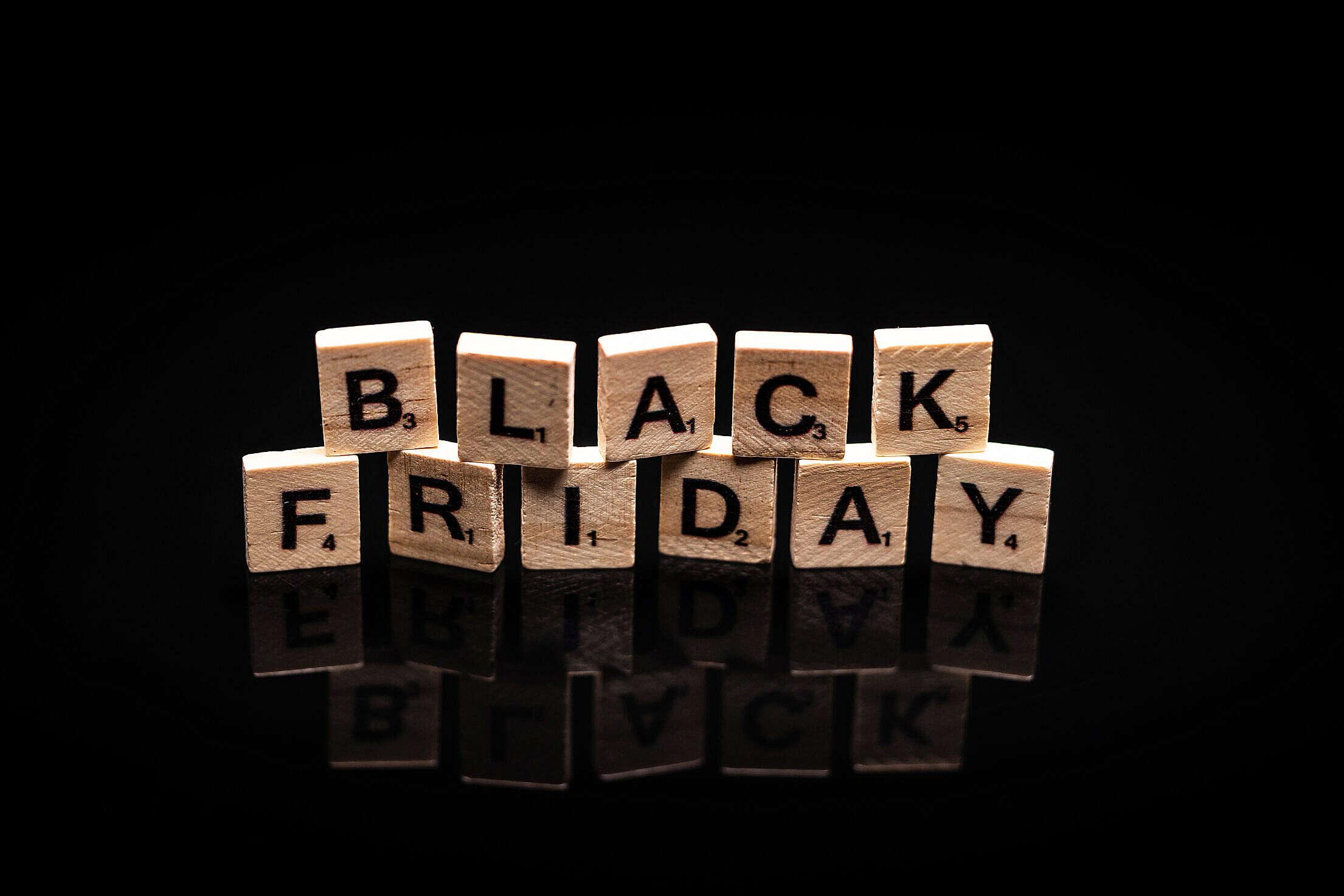 Black Friday Free Stock Photo