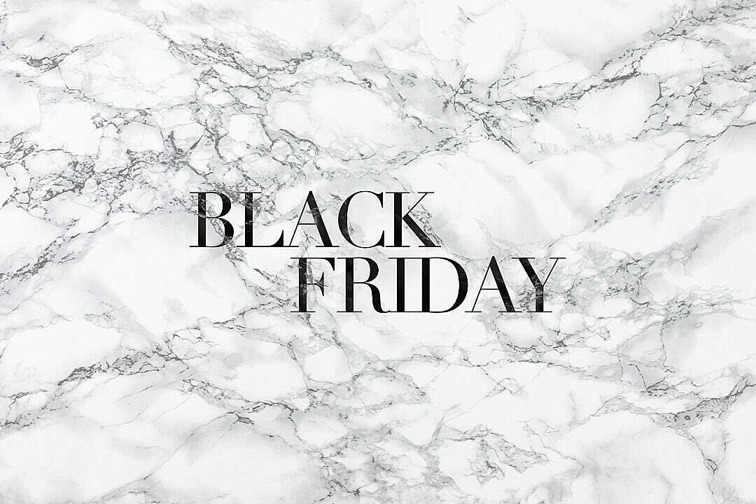 Download Black Friday Luxury Lettering on White Marble FREE Stock Photo