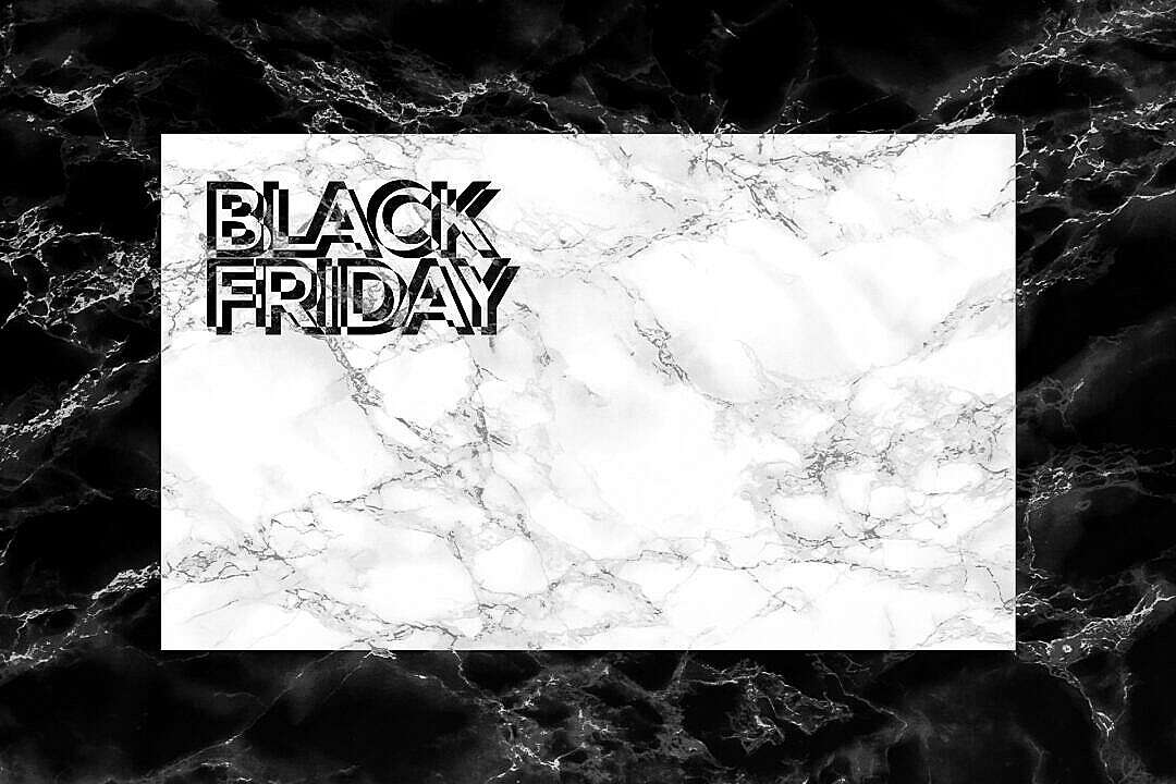 Download Black Friday Marble Card Mockup FREE Stock Photo