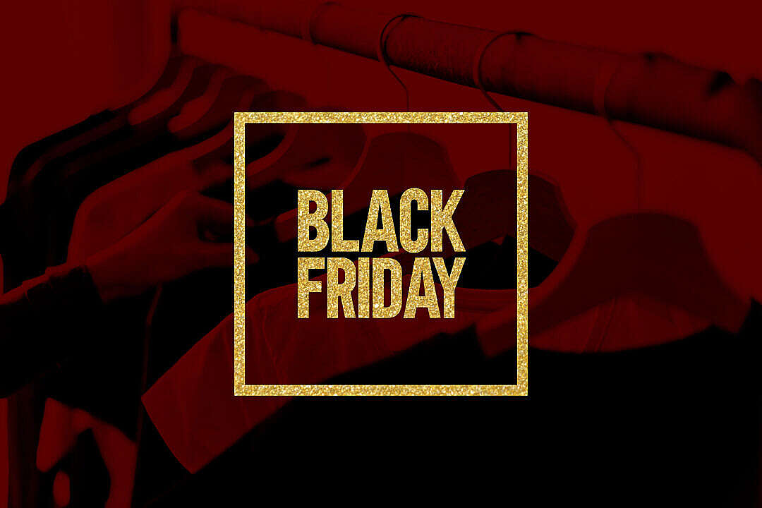 Download Black Friday Picture Golden Glitter Visual FREE Stock Photo