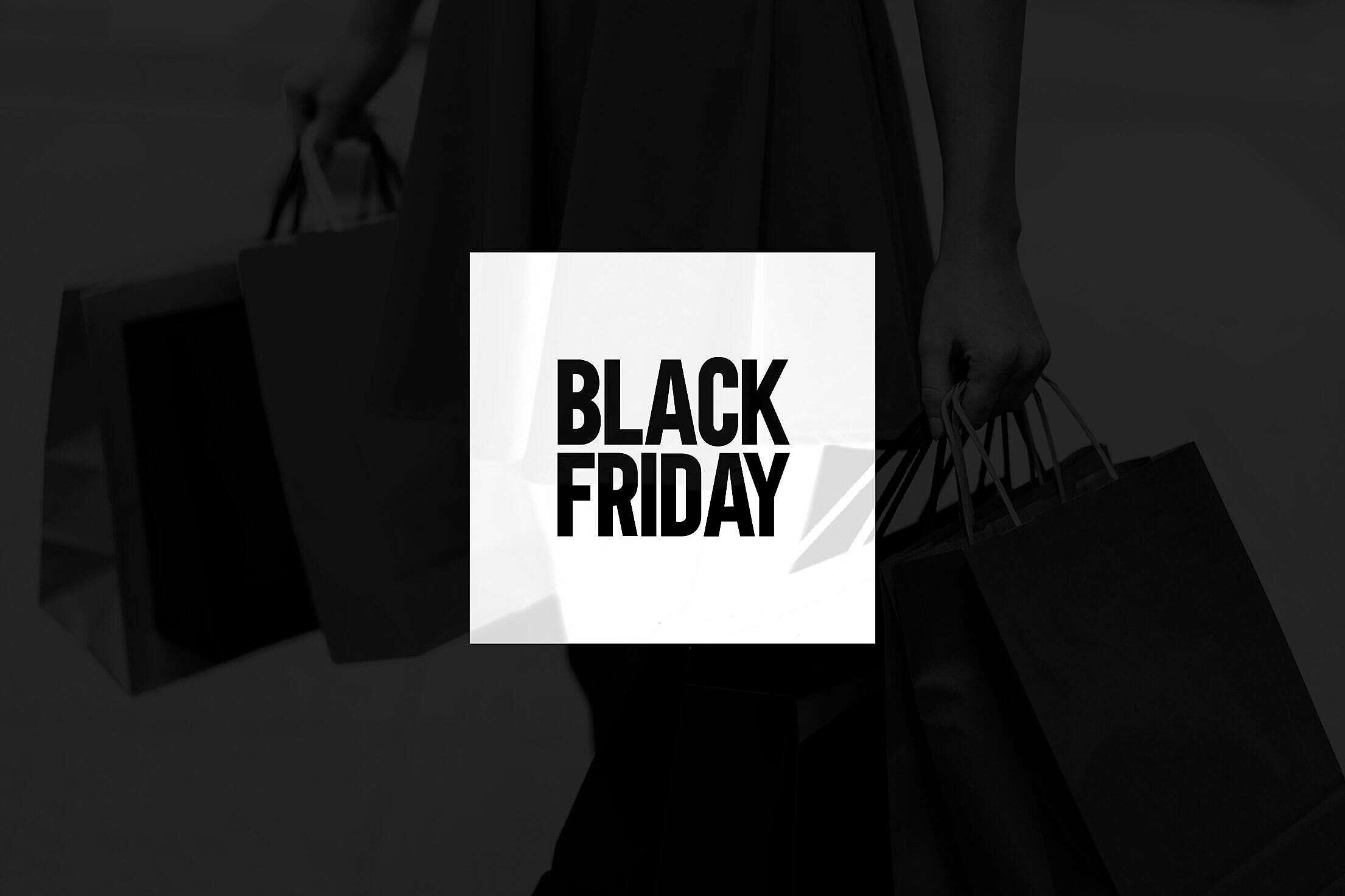 Black Friday Poster Free Stock Photo