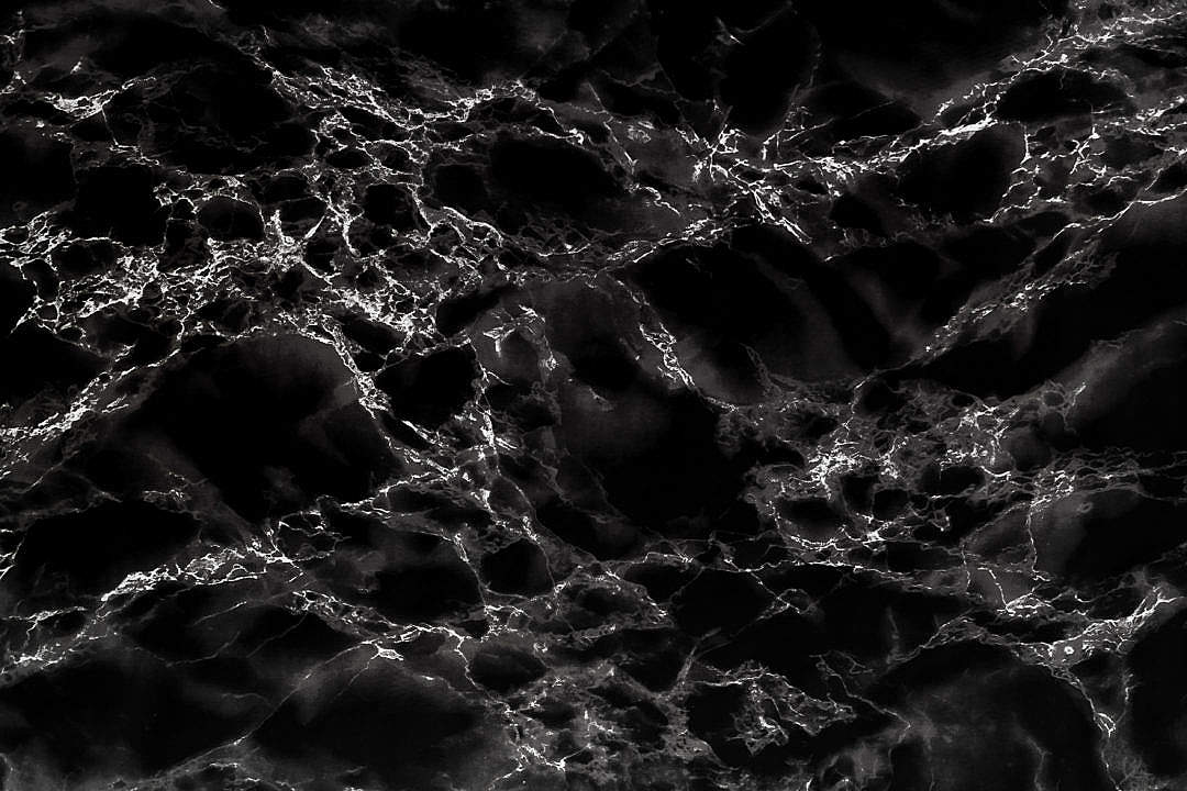 Download Black Marble Stone Background Texture Pattern FREE Stock Photo