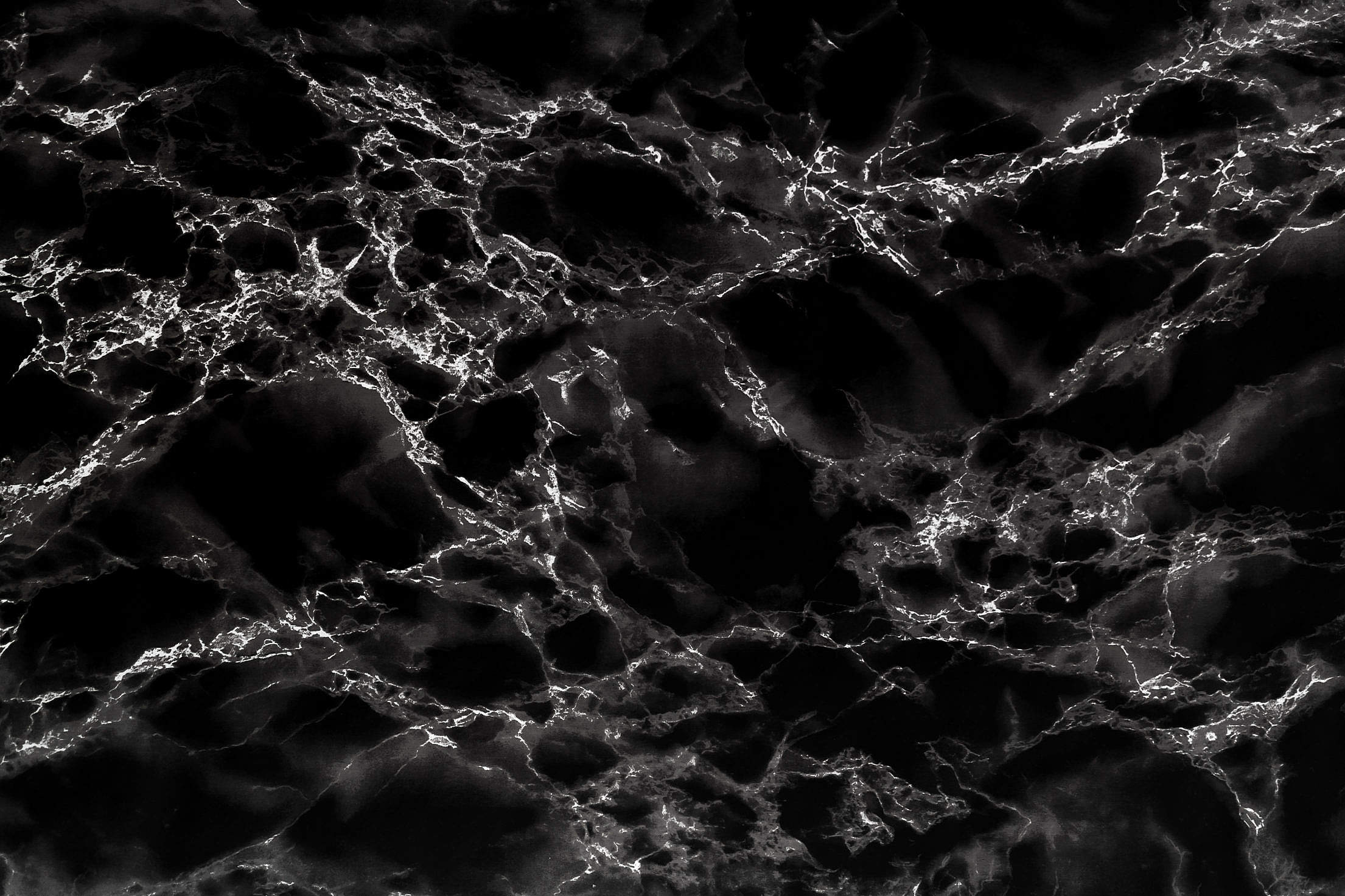 Black Marble Stone Background Texture Pattern Free Stock Photo