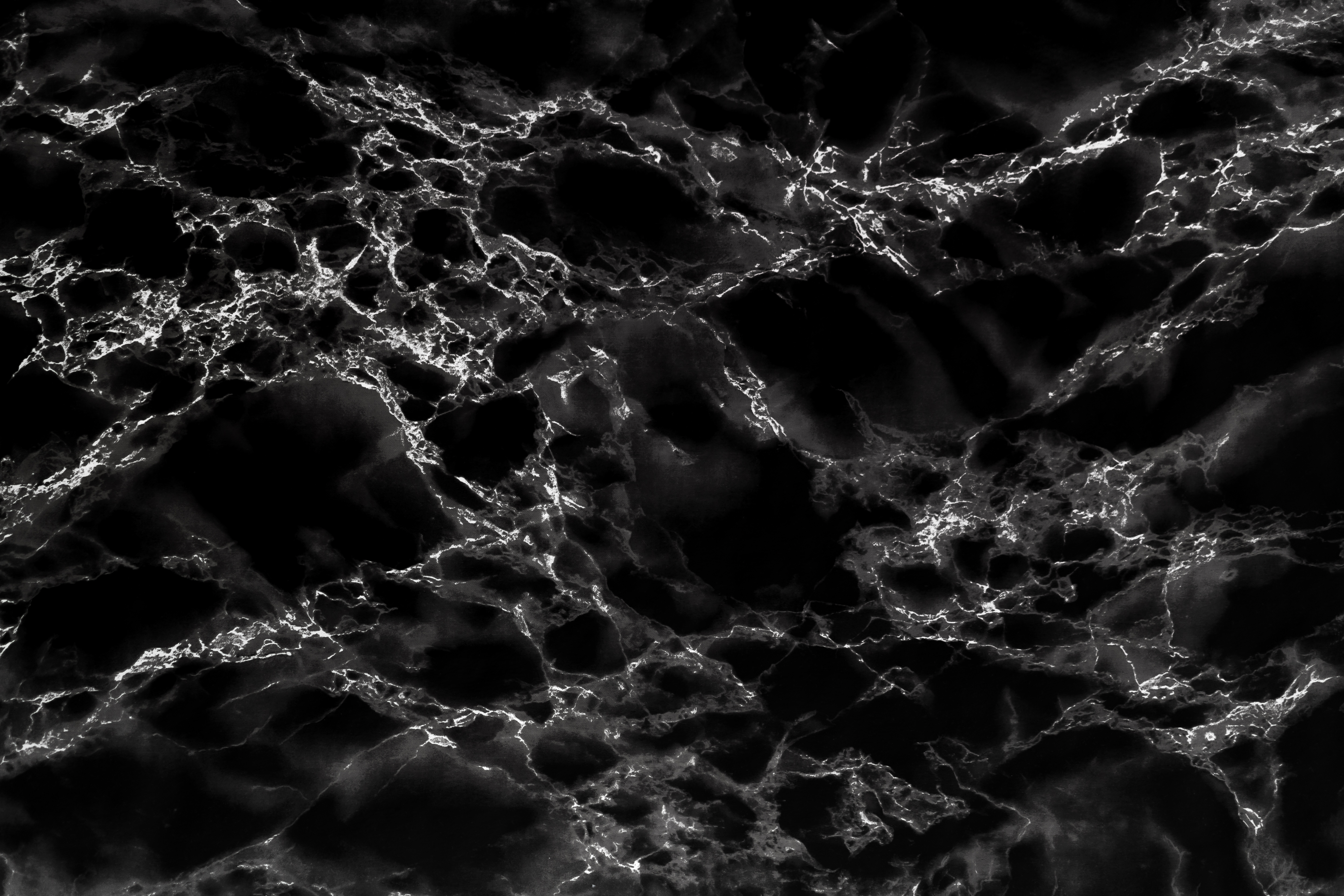 Black Marble Stone Background Texture Pattern Free Stock Photo Picjumbo
