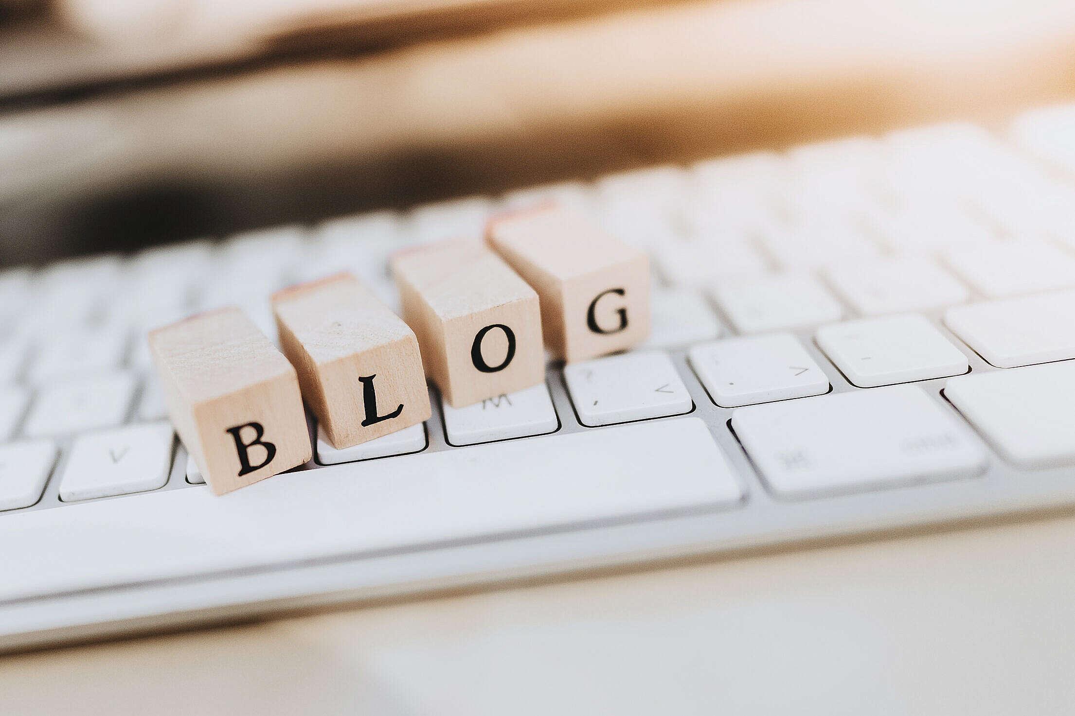 Blog Free Stock Photo