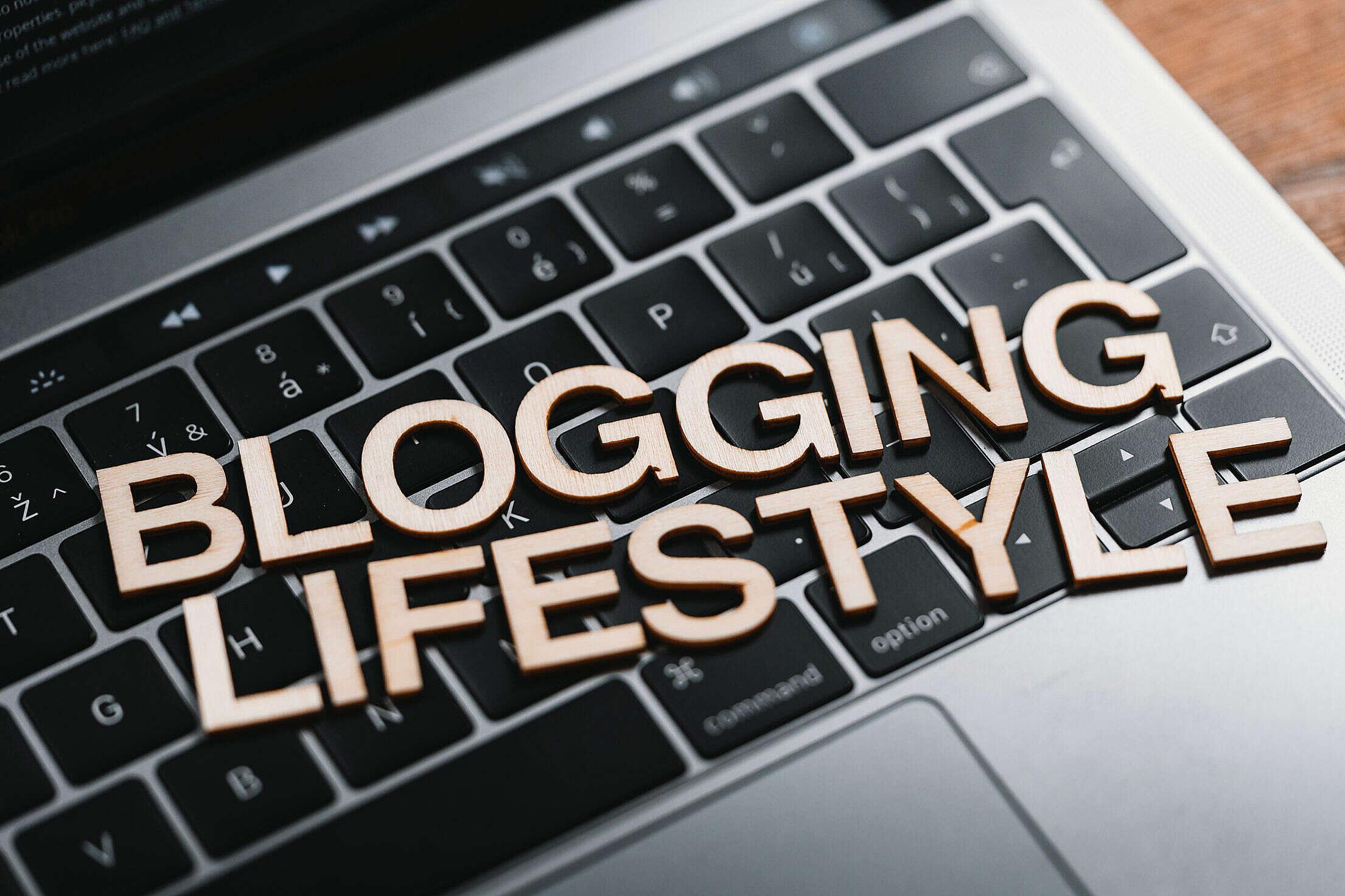 Blogging Lifestyle Free Stock Photo