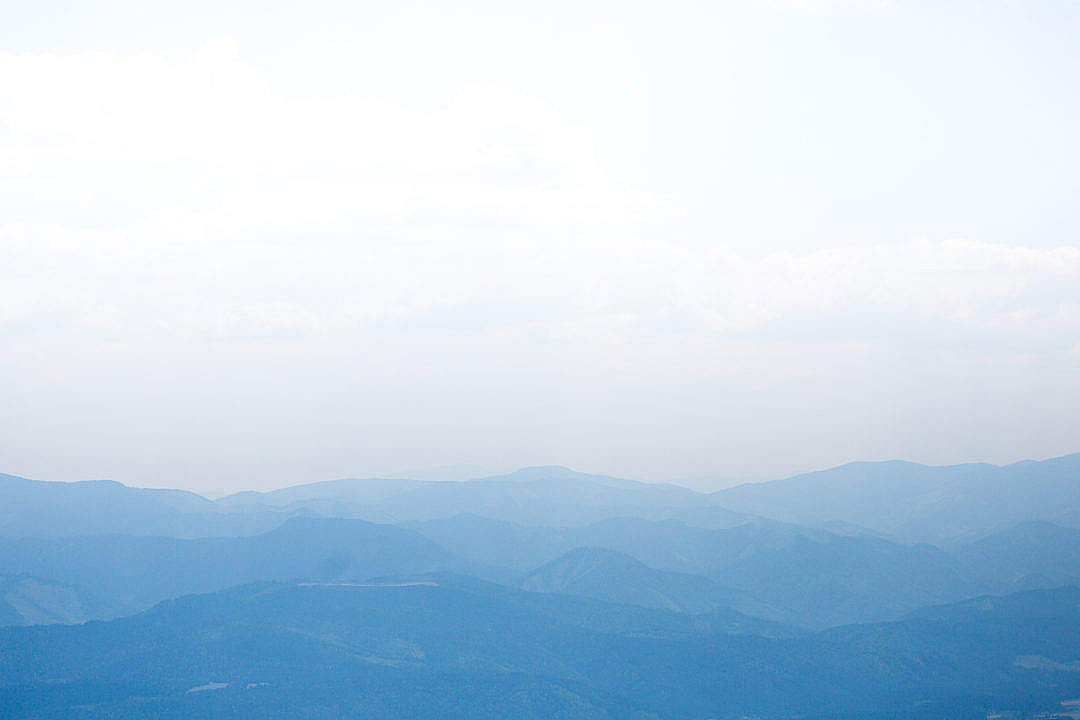 Download Blue Mountain Silhouettes FREE Stock Photo