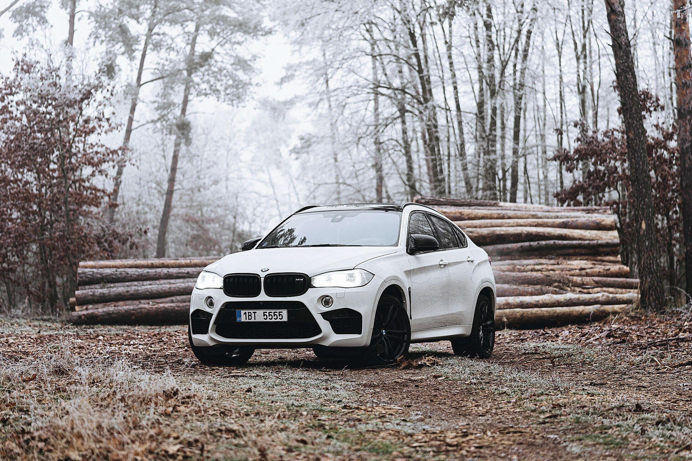 BMW X6M Wallpaper Free Stock Photo