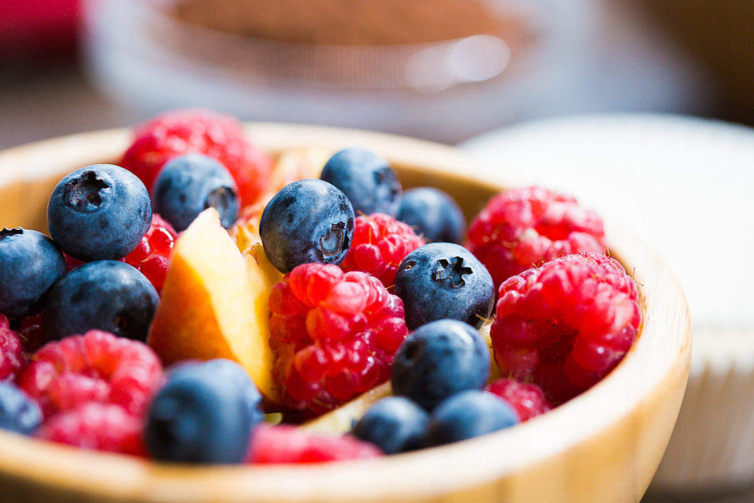 Download Bowl Full of Healthy Fruits FREE Stock Photo