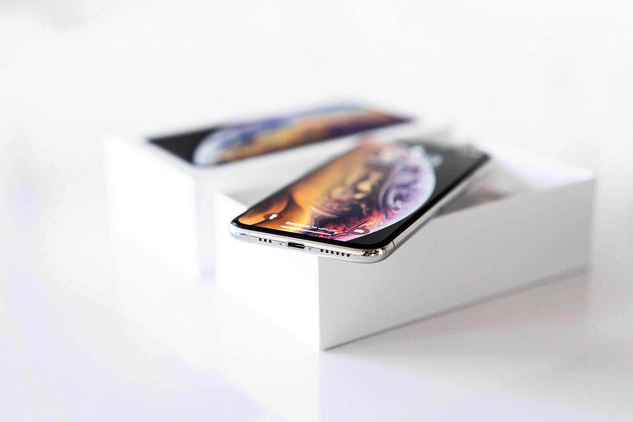 Brand New iPhone XS Free Stock Photo