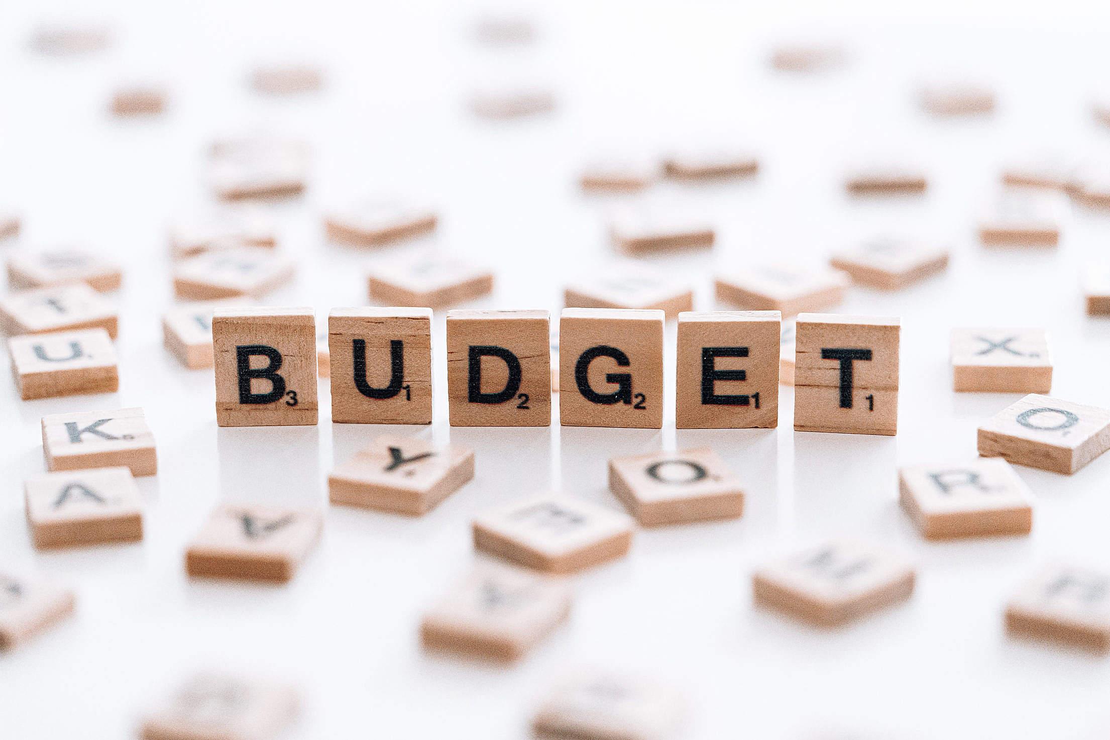 Budget Free Stock Photo