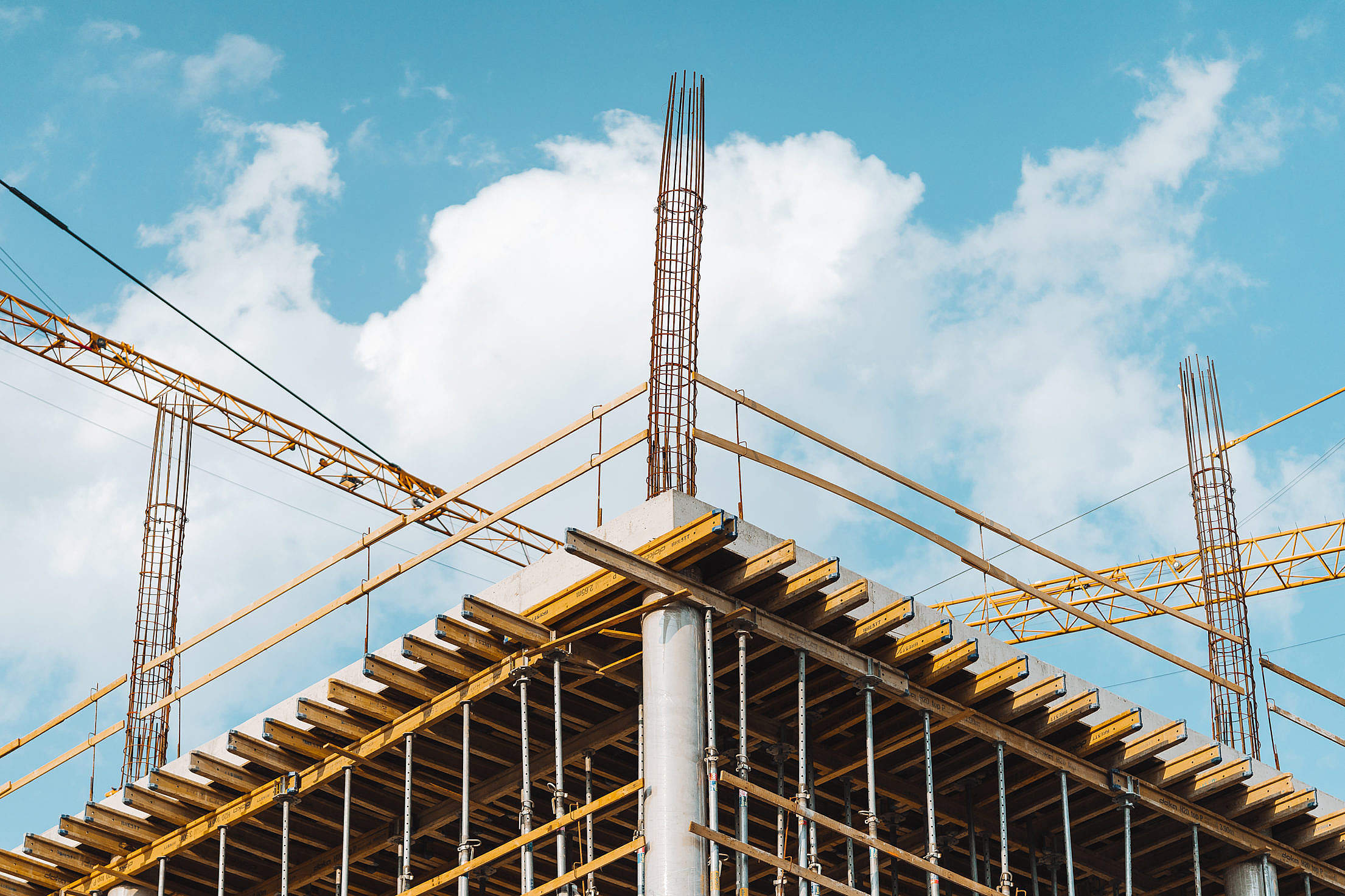 Building Construction Free Stock Photo
